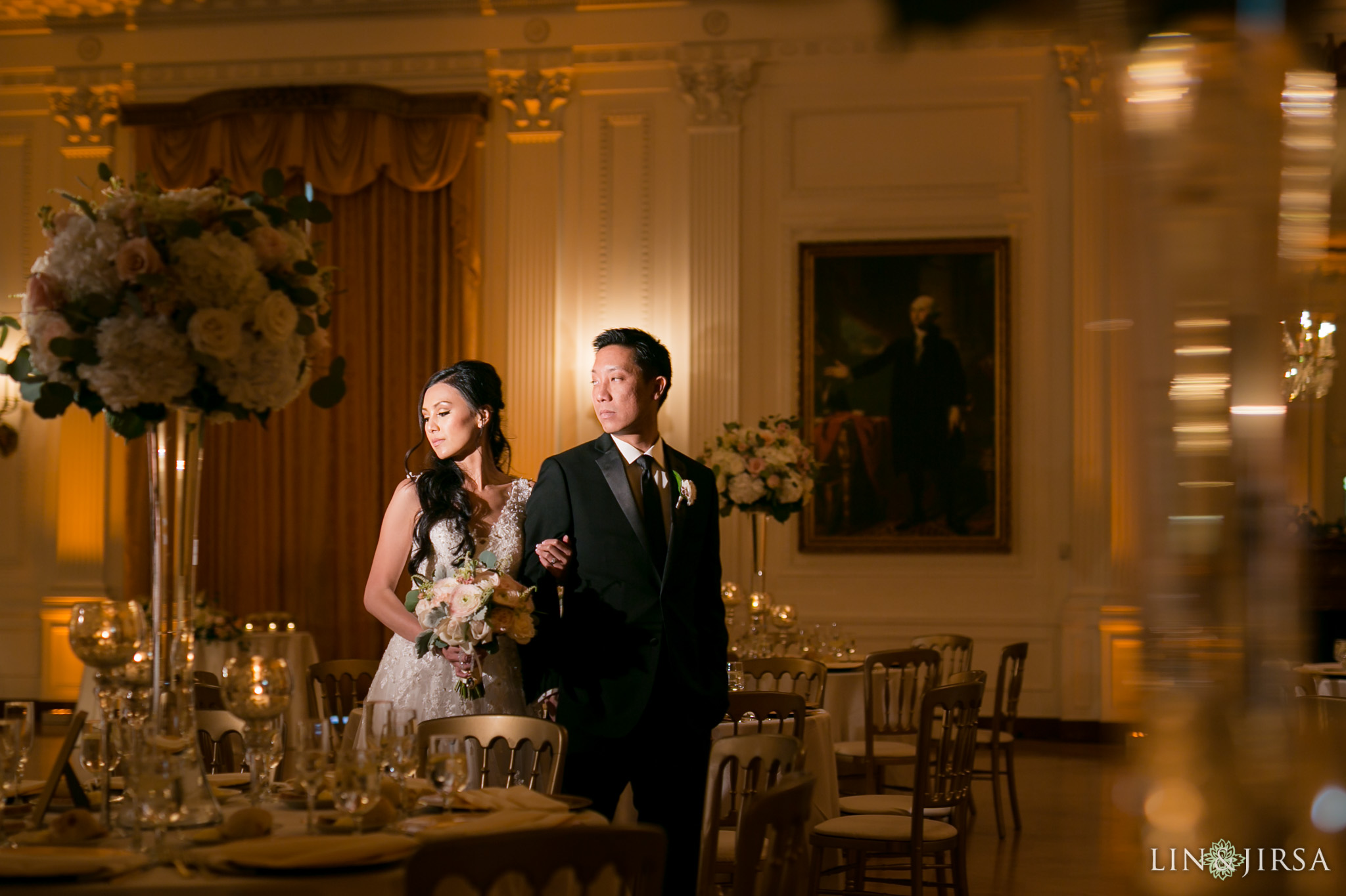 24 richard nixon library wedding reception photography