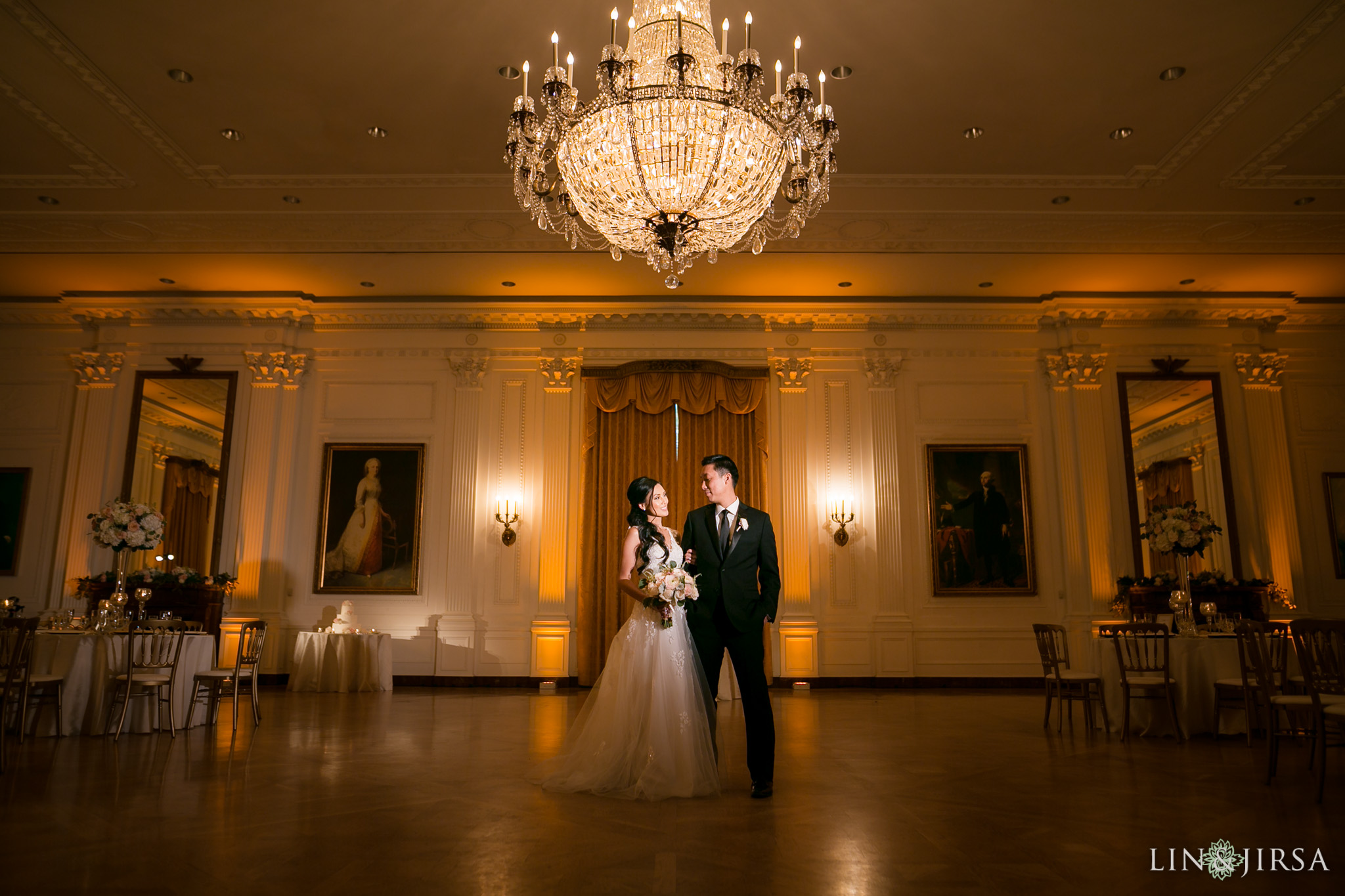 25 richard nixon library wedding reception photography