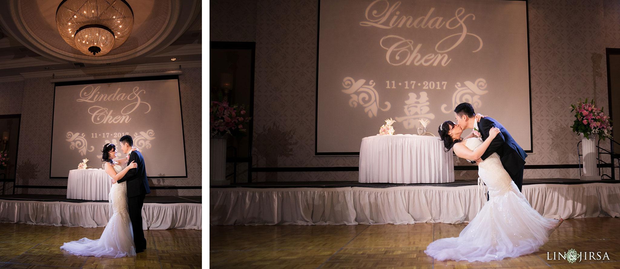 25 san gabriel hilton wedding reception photography