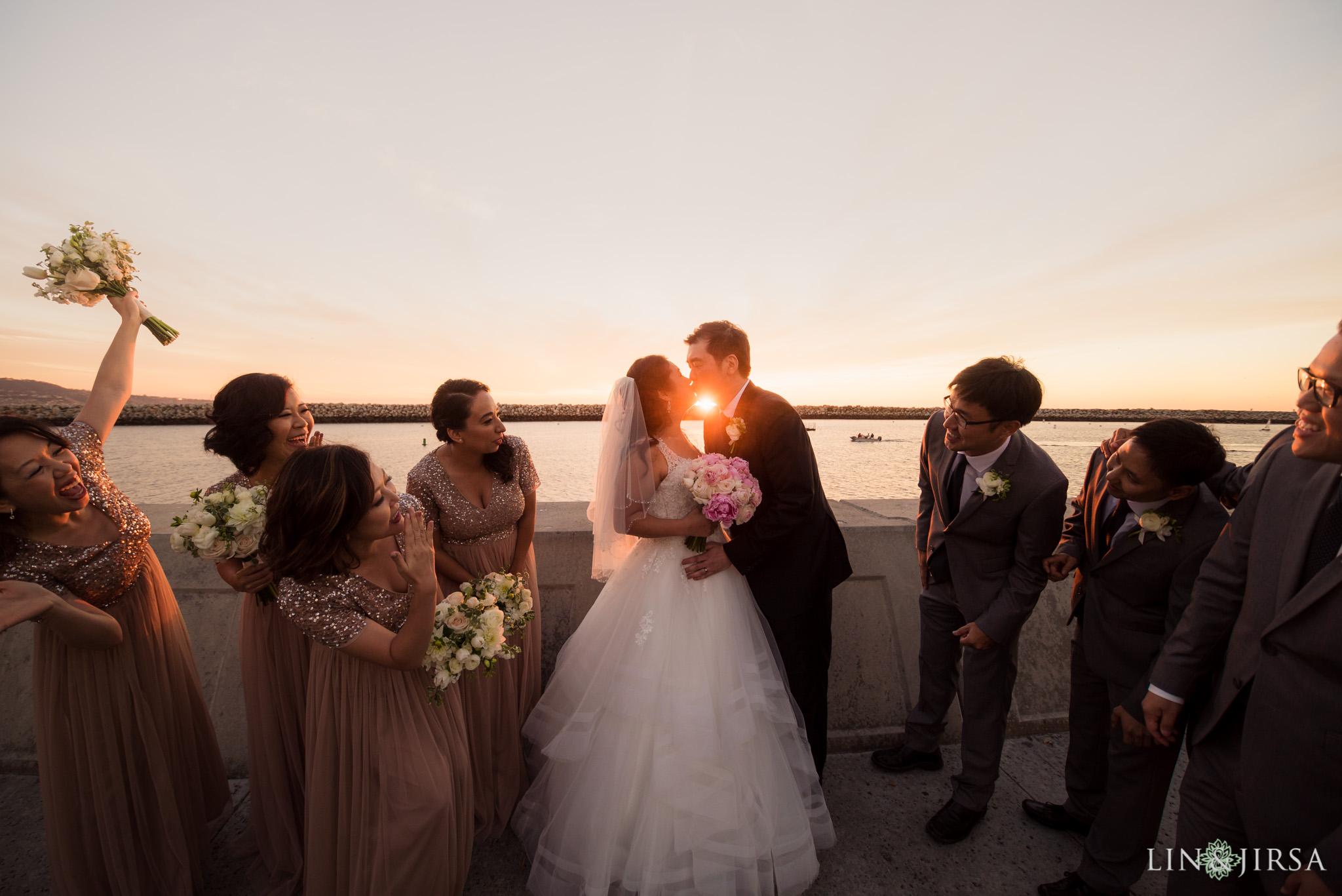 26 portofino hotel redondo beach wedding party photography