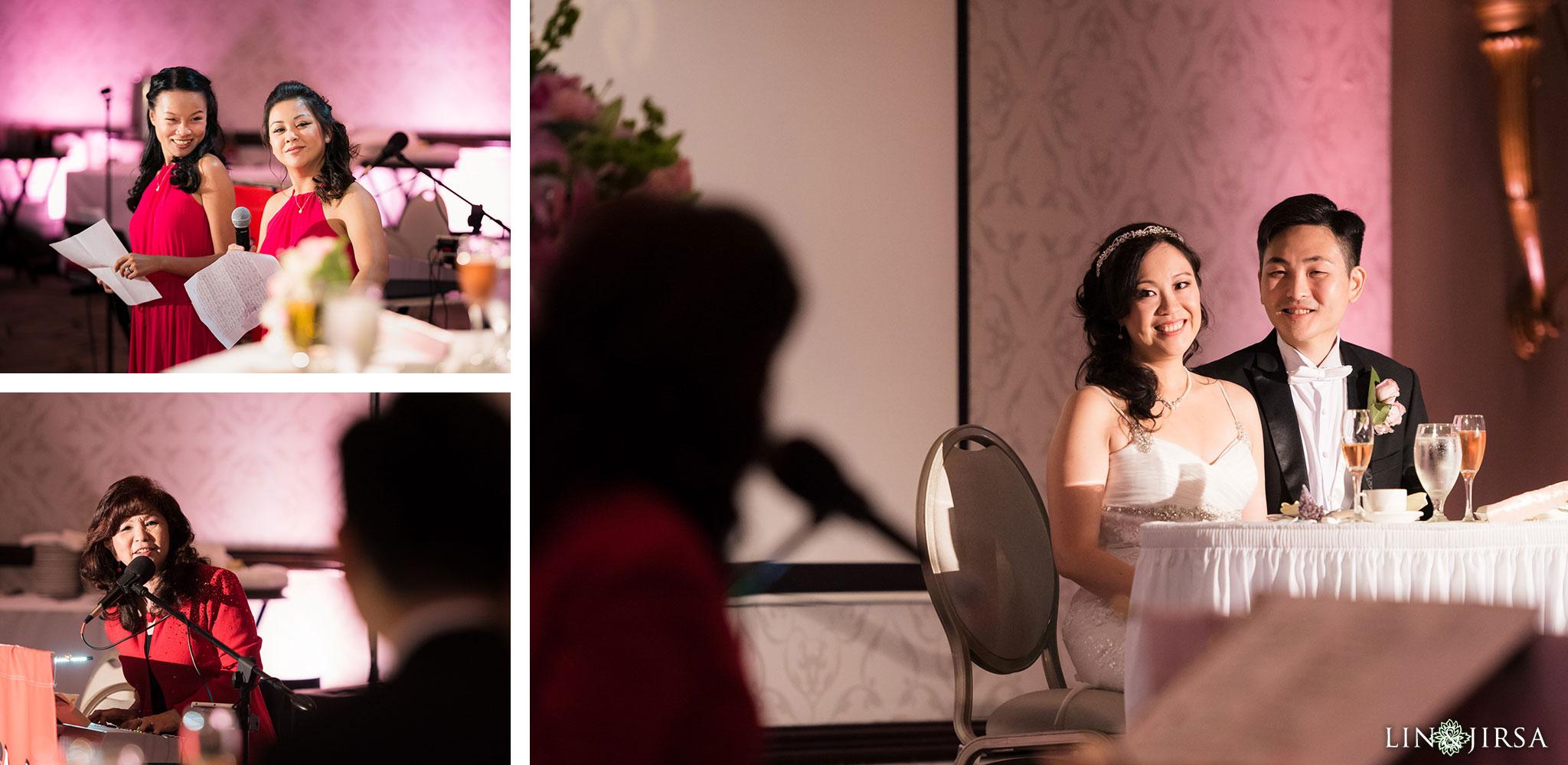 27 san gabriel hilton wedding reception photography