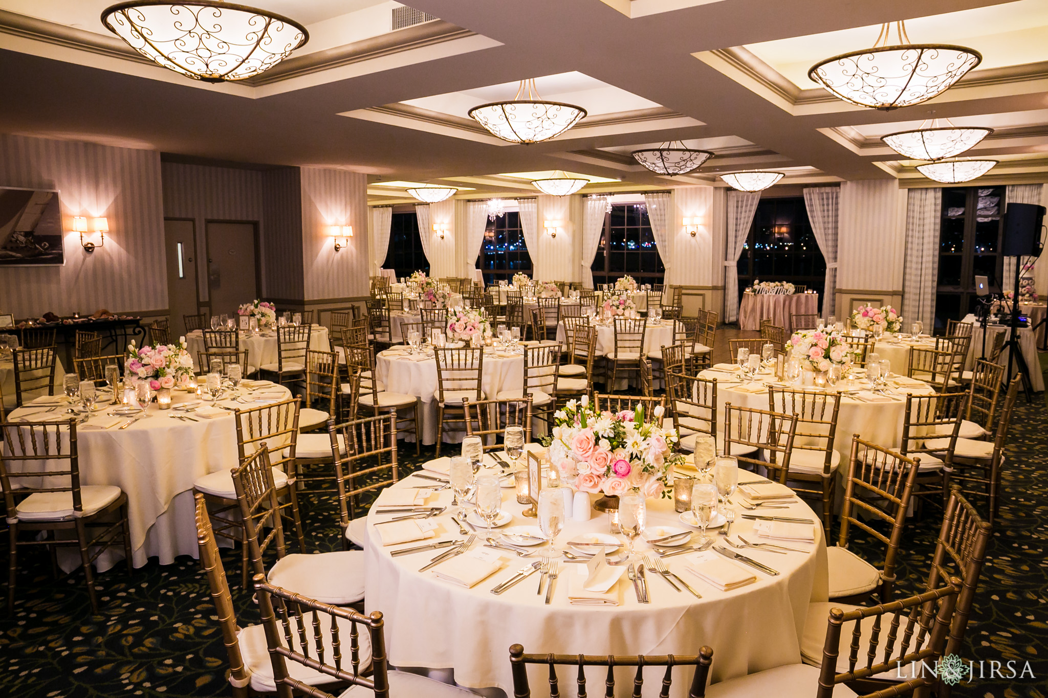 29 portofino hotel redondo beach wedding reception photography