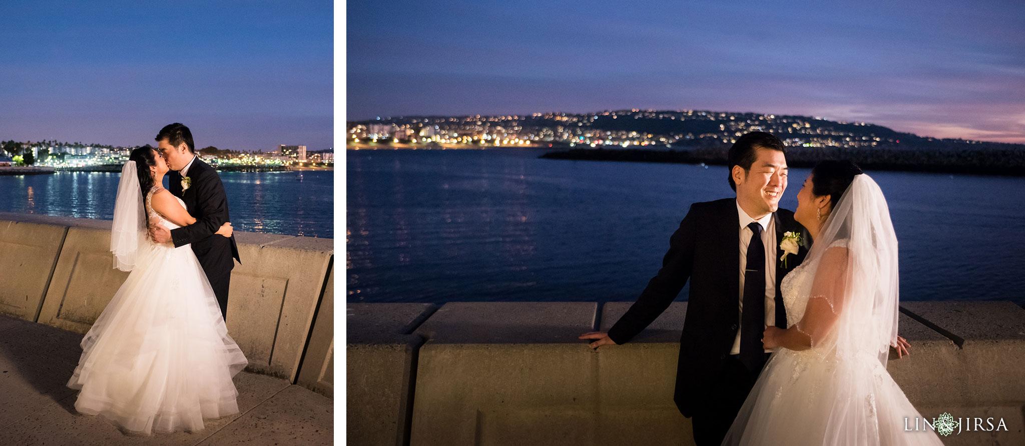 35 portofino hotel redondo beach wedding reception photography