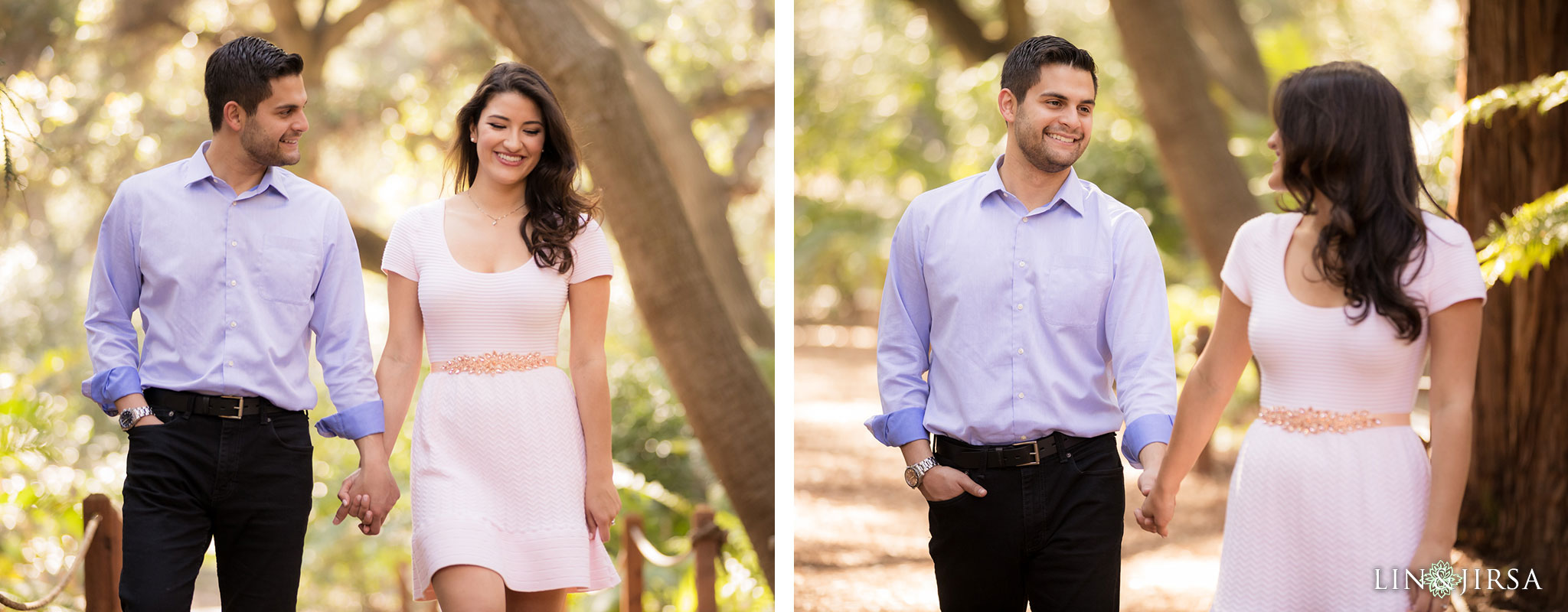 01 descanso gardens los angeles country engagement photography