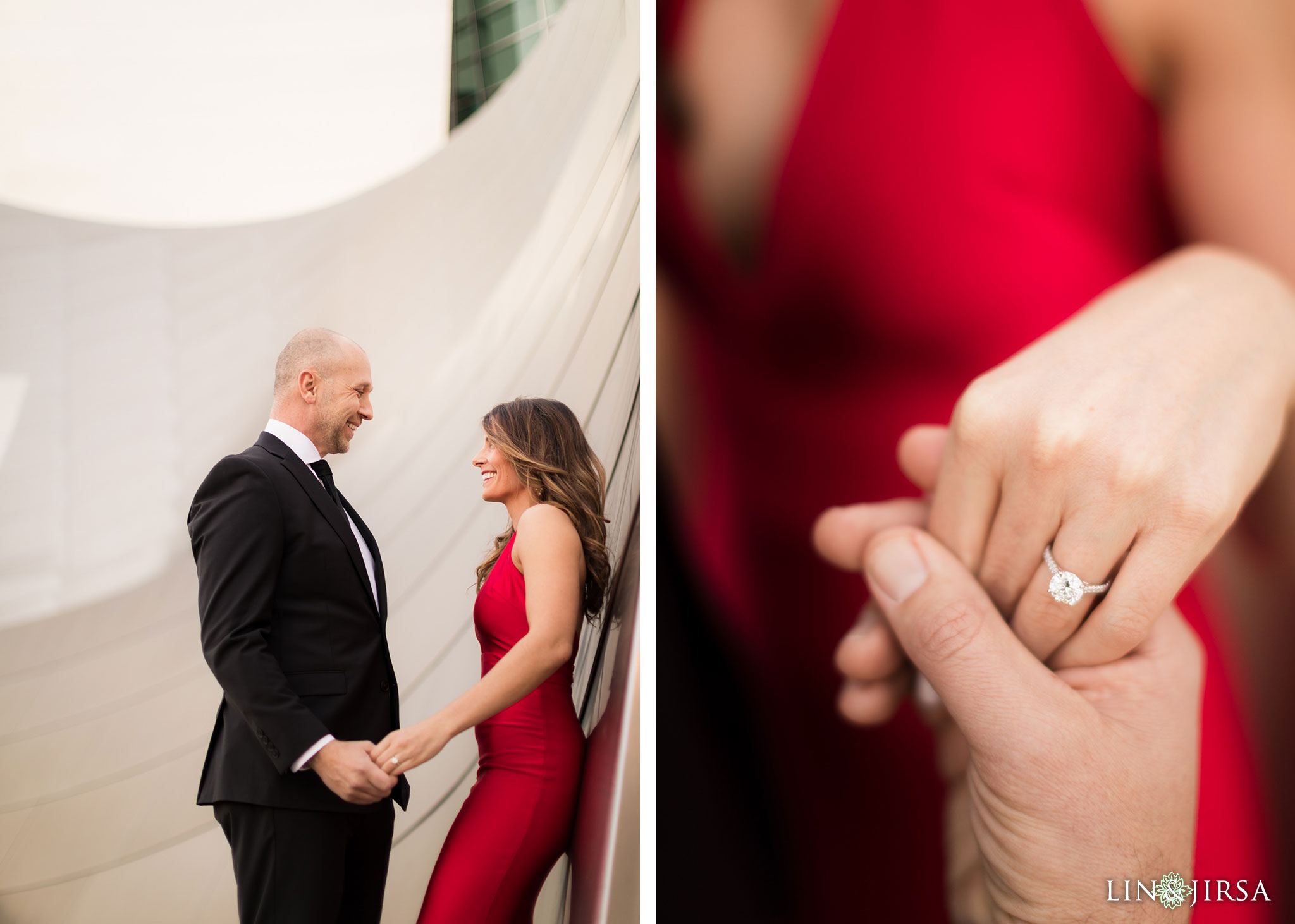02 walt disney concert hall los angeles engagement photography