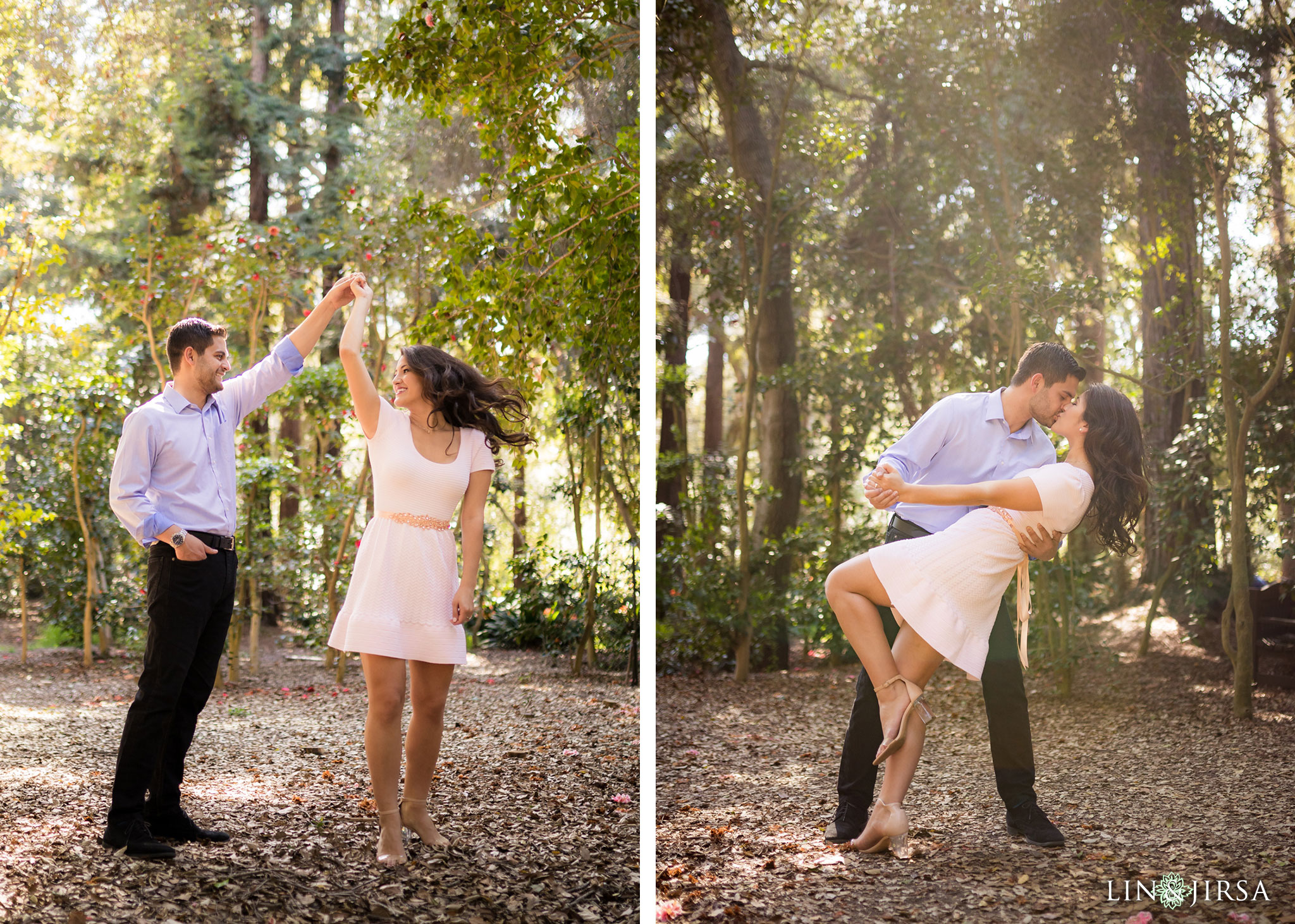 03 descanso gardens los angeles country engagement photography