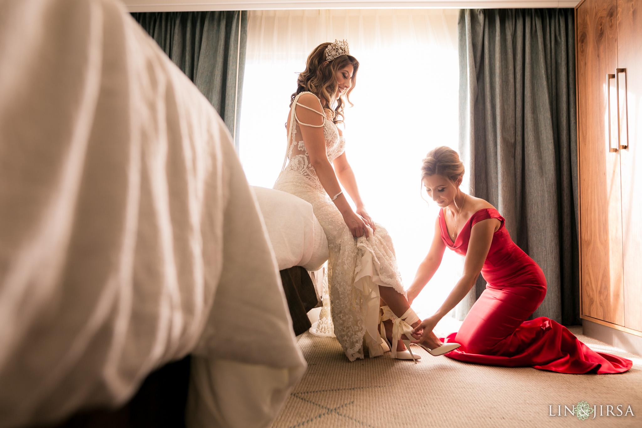04 richard nixon library wedding bride photography