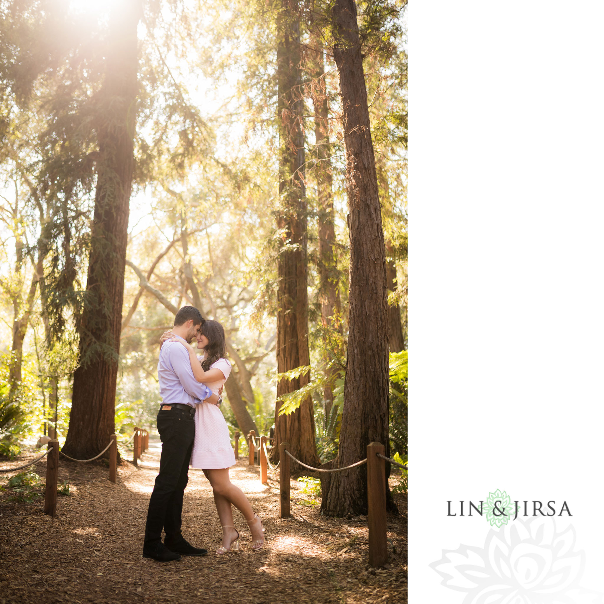 06 descanso gardens los angeles country engagement photography
