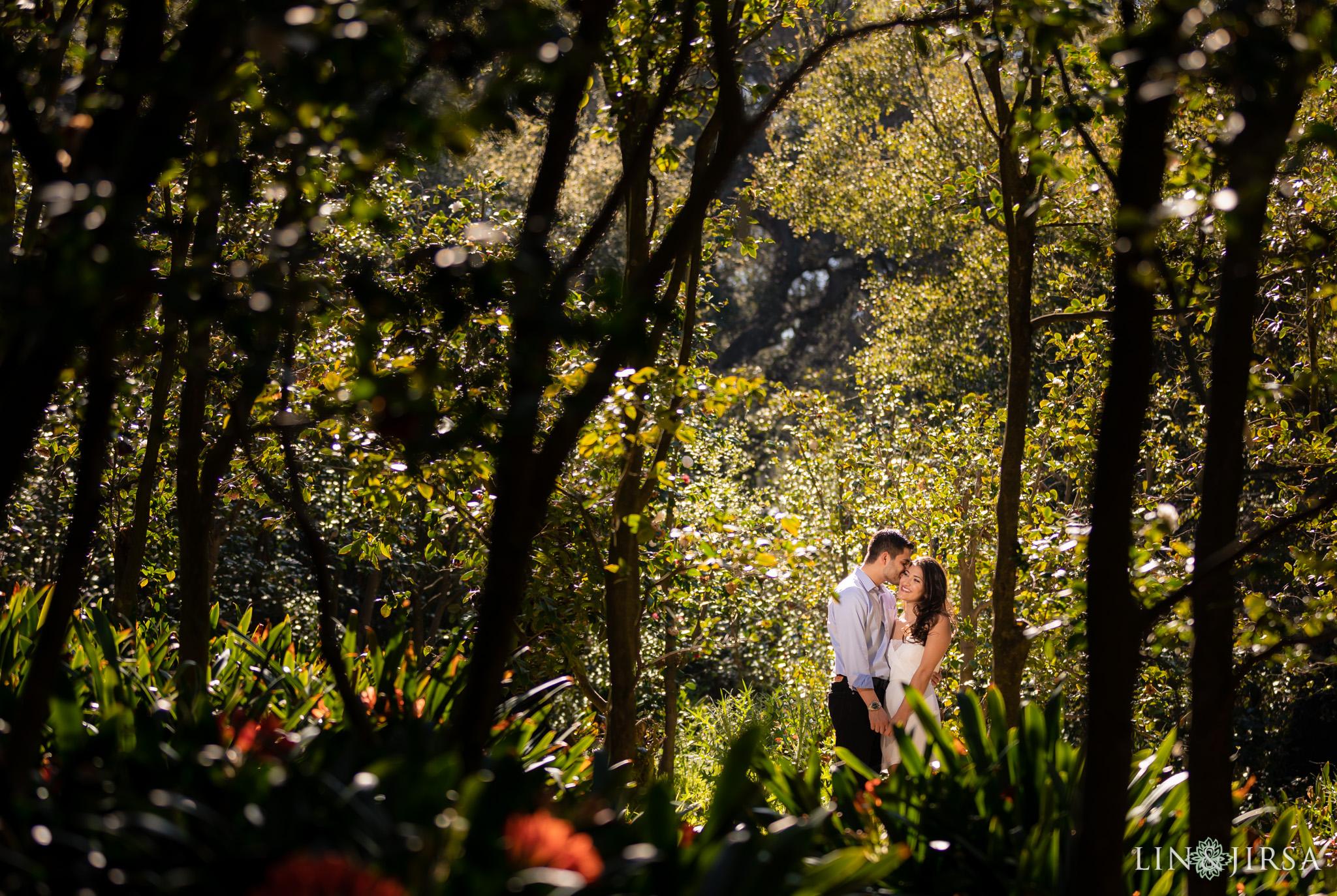 Descanso Gardens Engagement | Emily & Michael