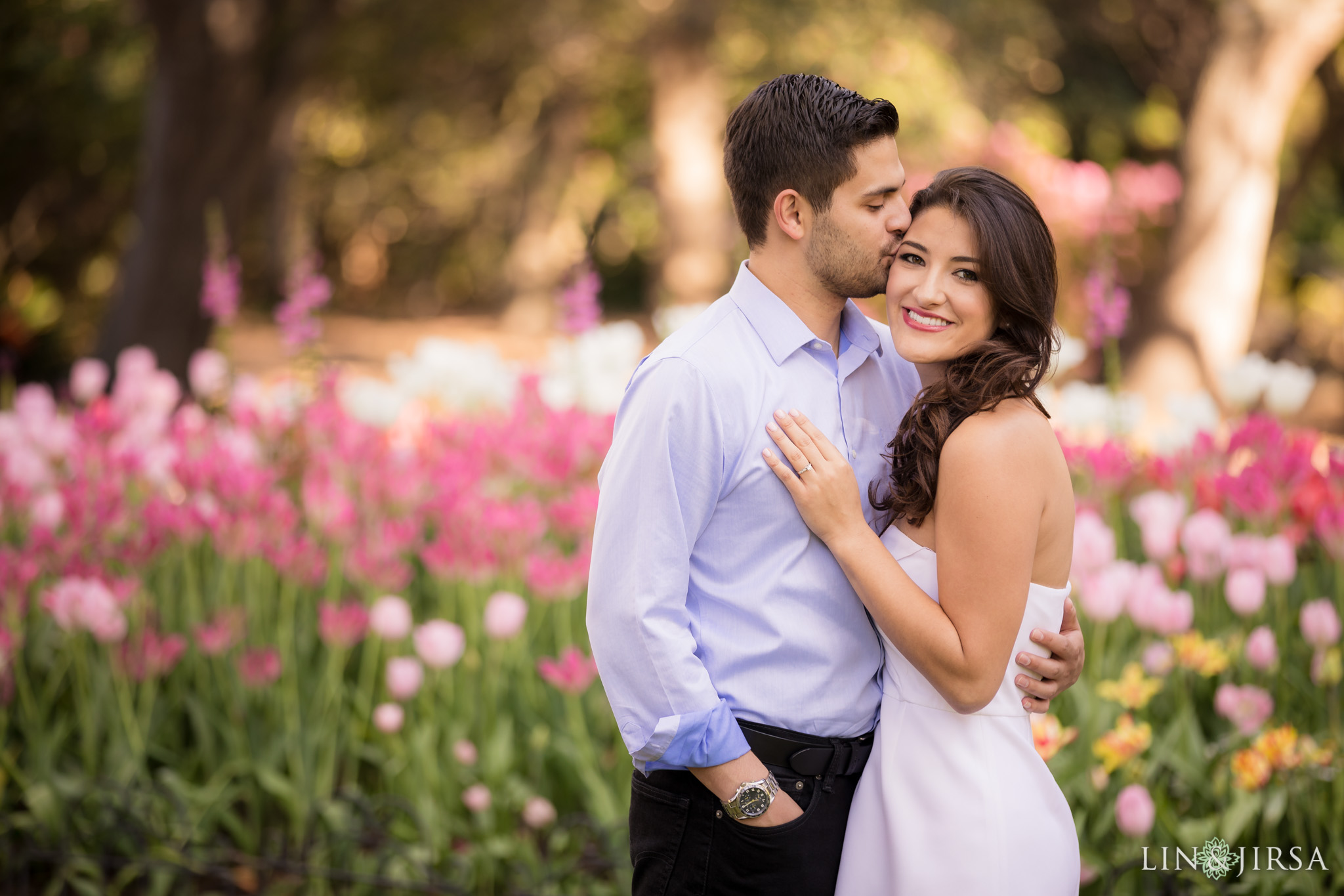 10 descanso gardens los angeles country engagement photography