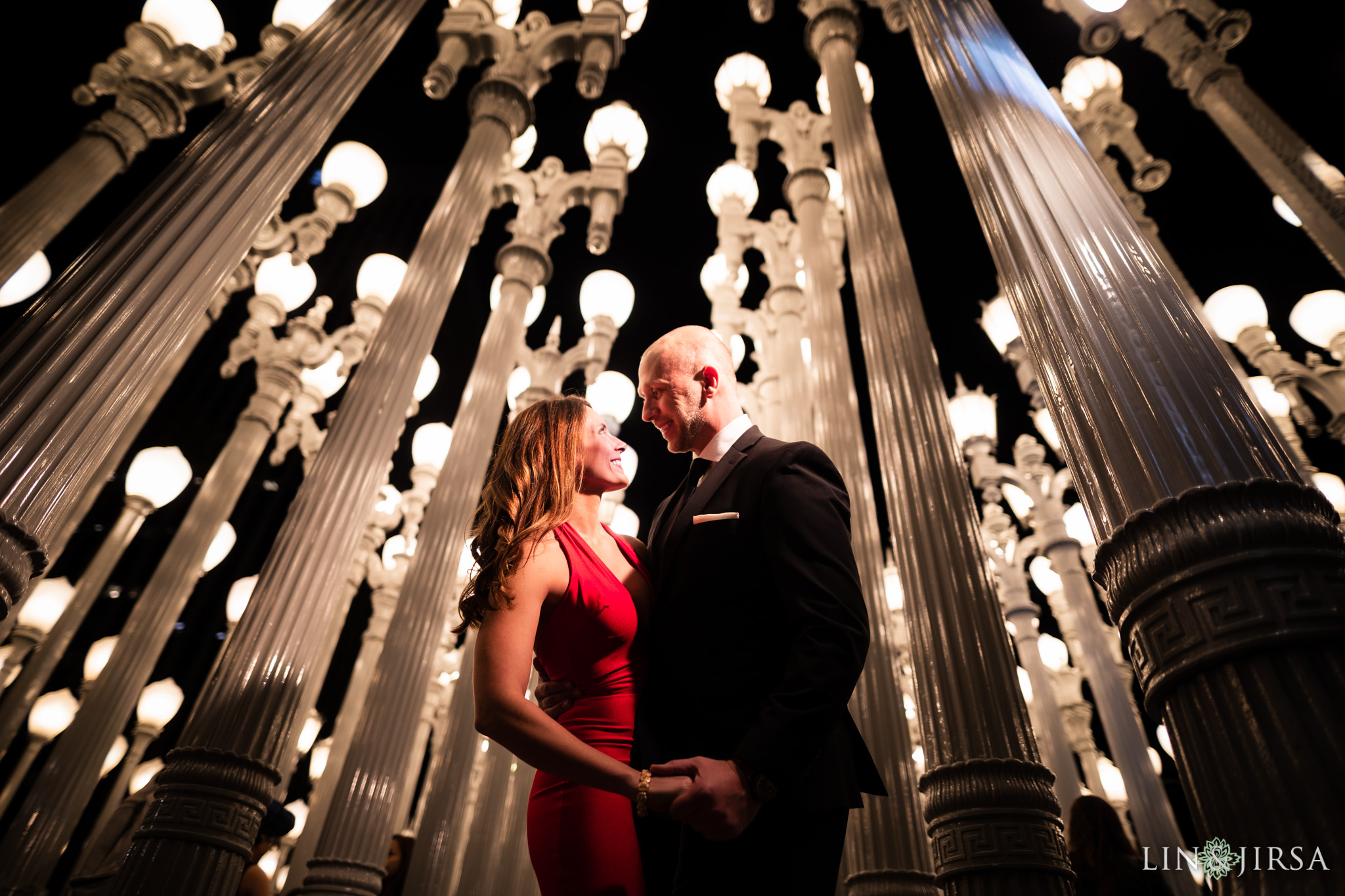 12 LACMA los angeles engagement photography