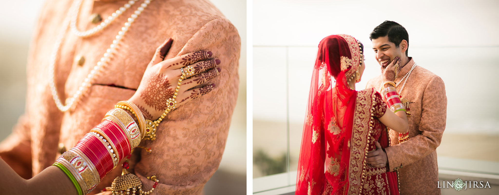 12 hilton waterfront huntington beach indian first look wedding photography