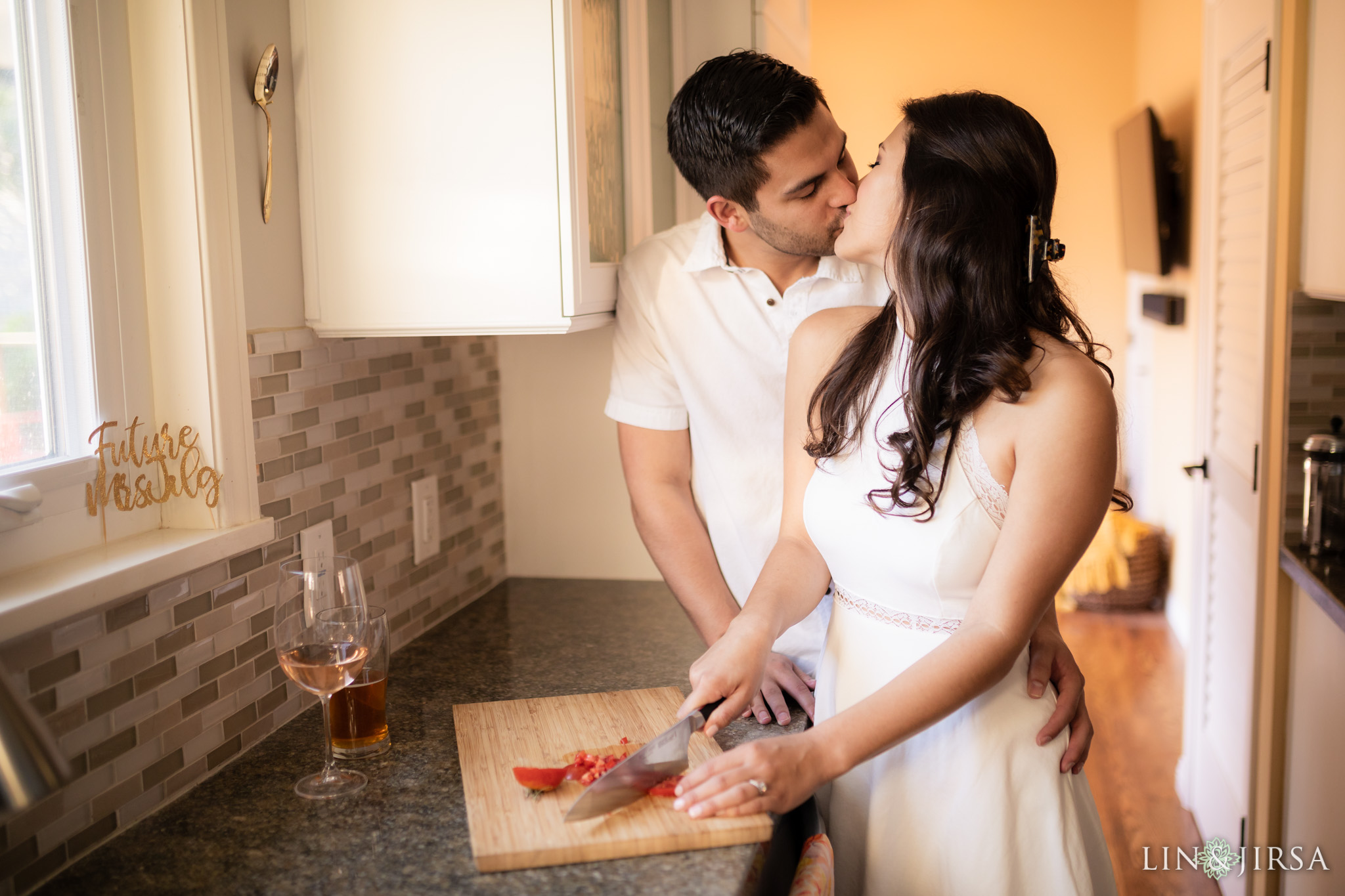 13 los angeles country home engagement photography