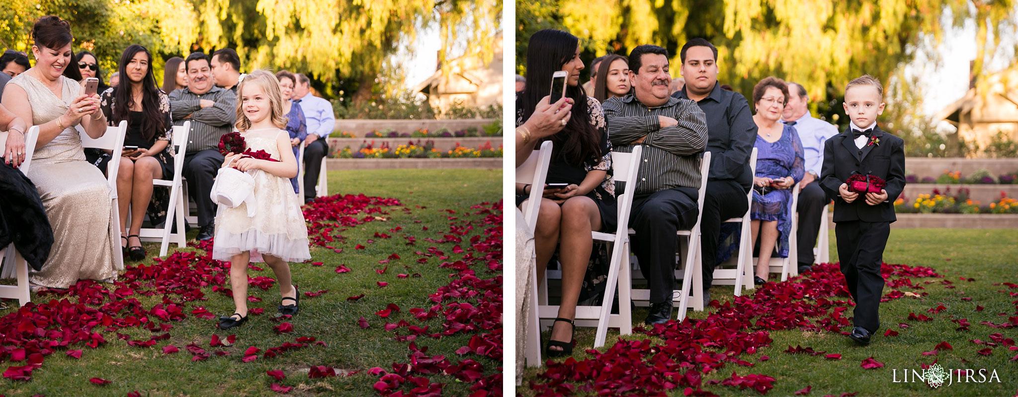 13 richard nixon library wedding ceremony photography