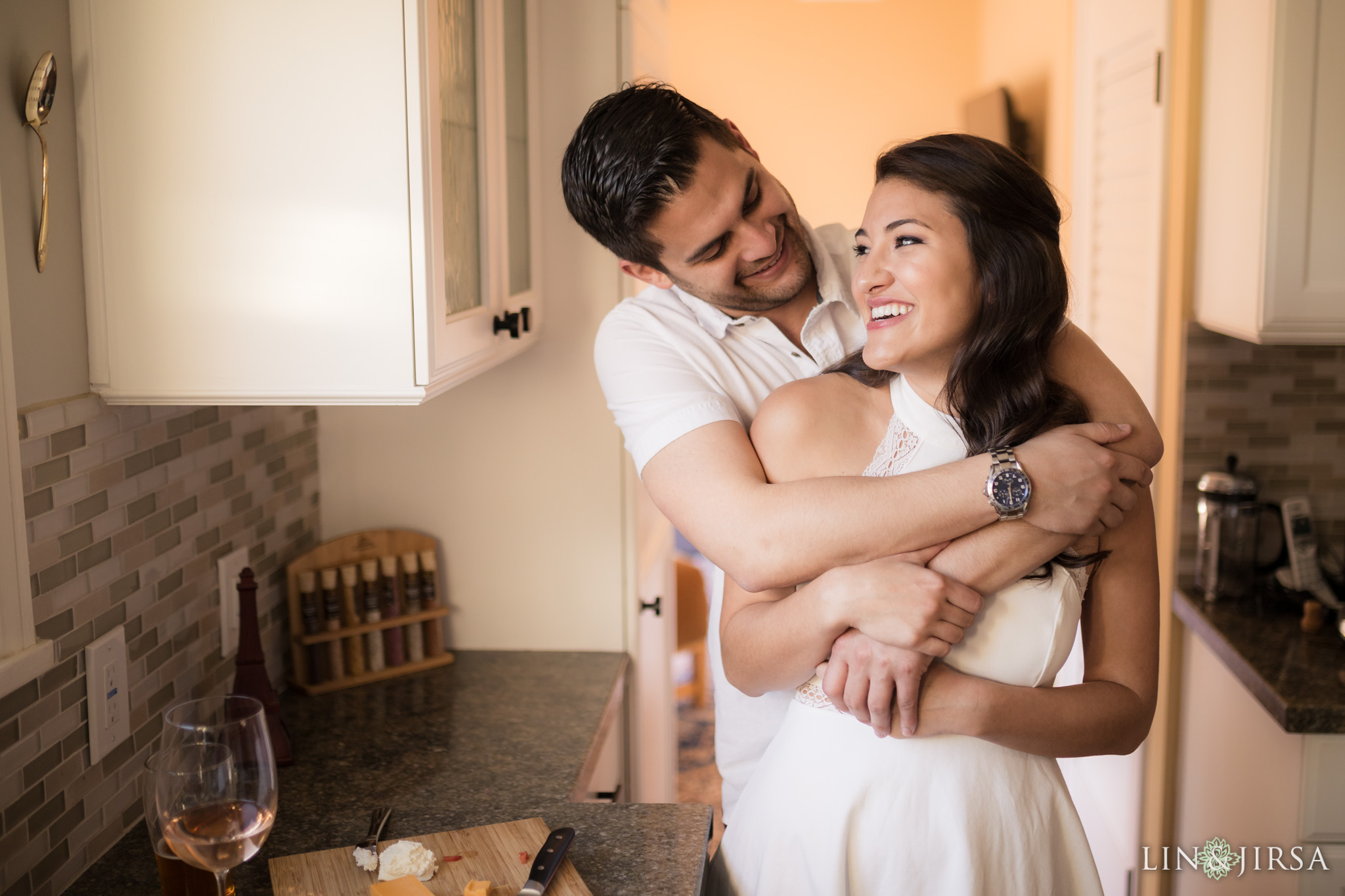 14 los angeles country home engagement photography