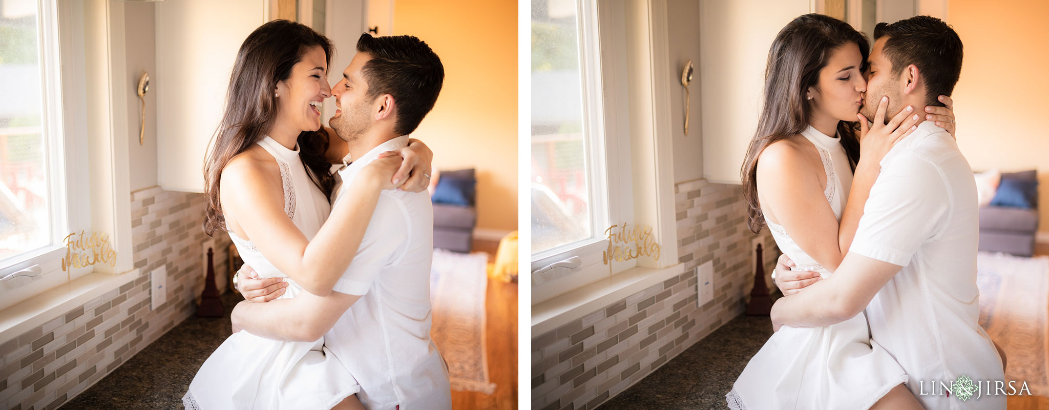 15 los angeles country home engagement photography