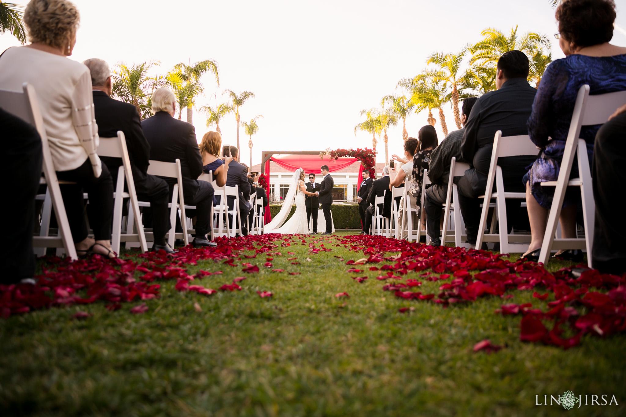 16 richard nixon library wedding ceremony photography