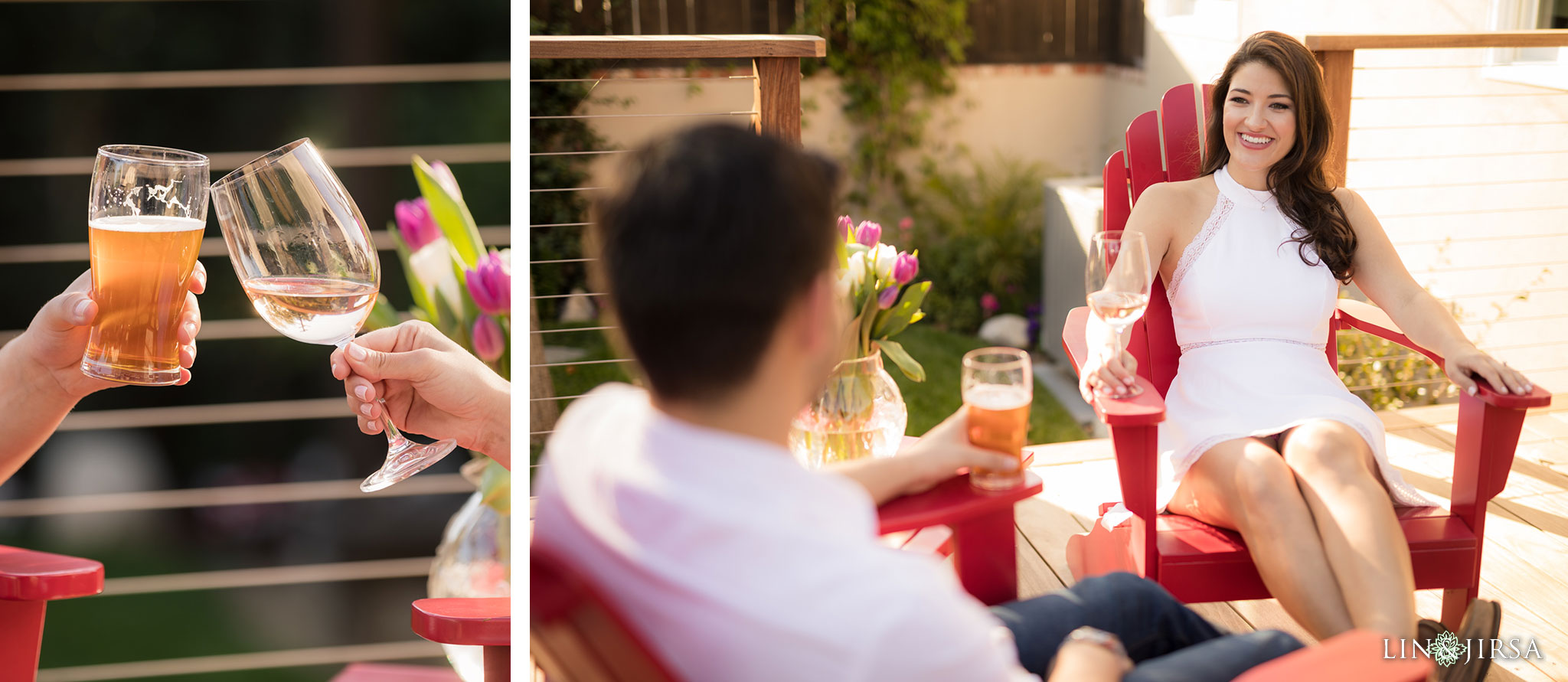 17 los angeles country home engagement photography