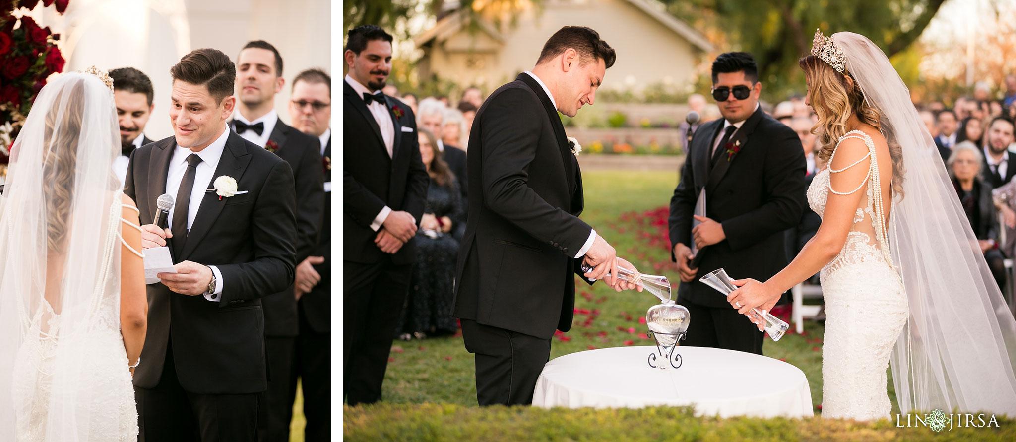 18 richard nixon library wedding ceremony photography