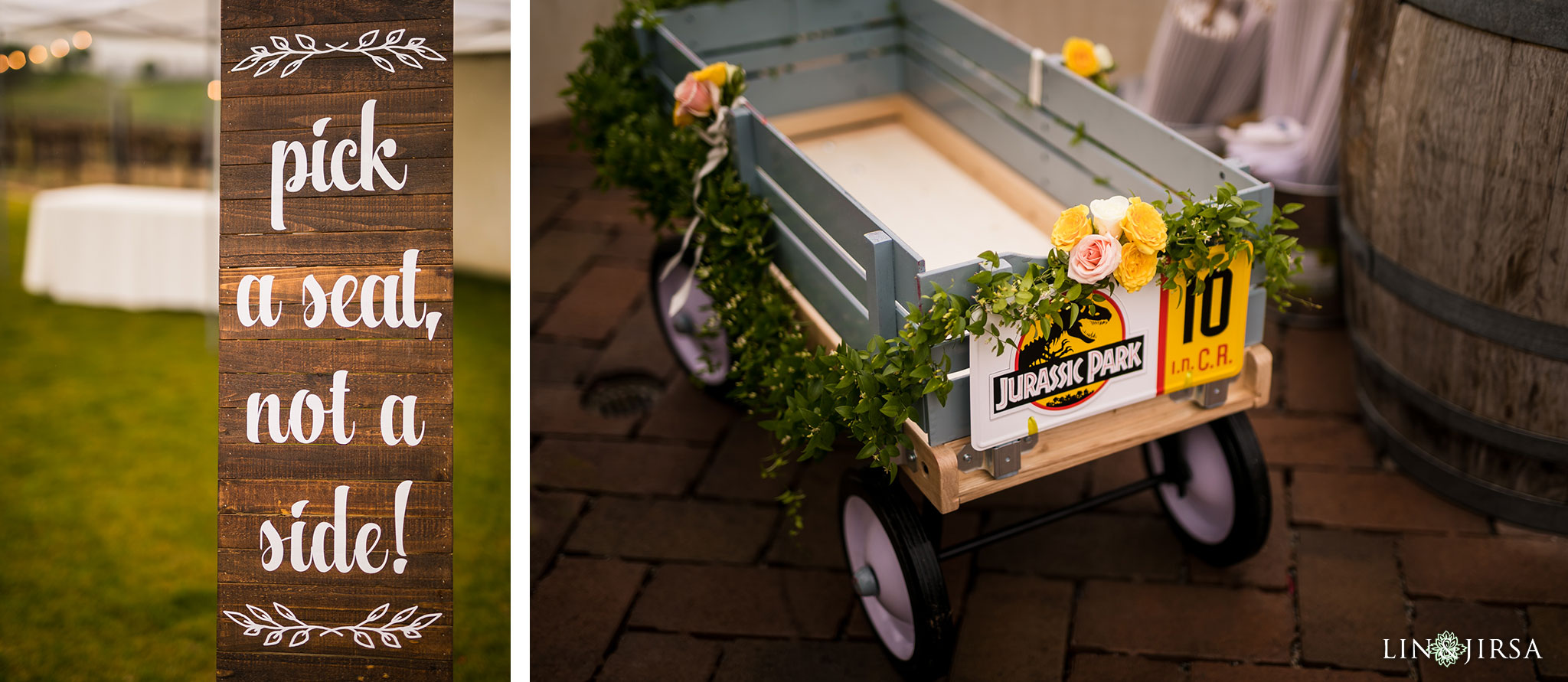 19 leoness cellars temecula jurassic park wedding ceremony photography