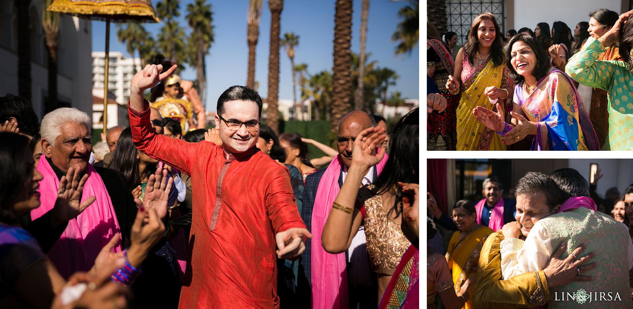 20 hilton waterfront huntington beach indian baraat wedding photography