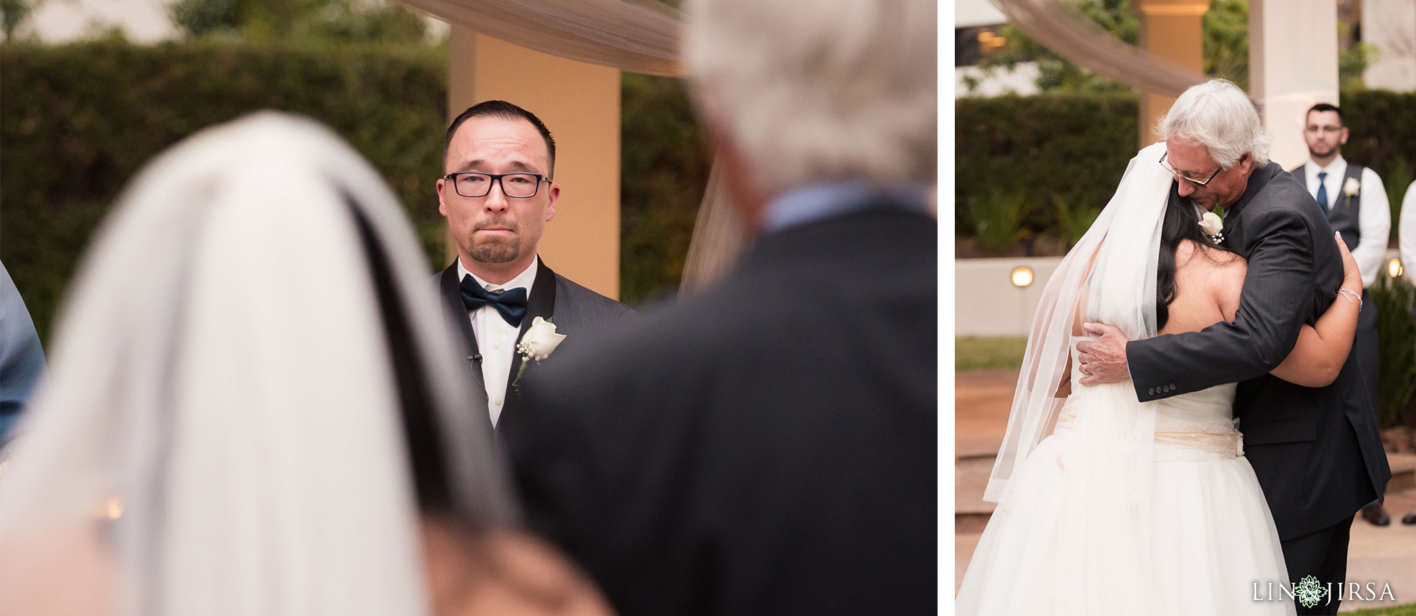 21 turnip rose promenade orange county wedding ceremony photography