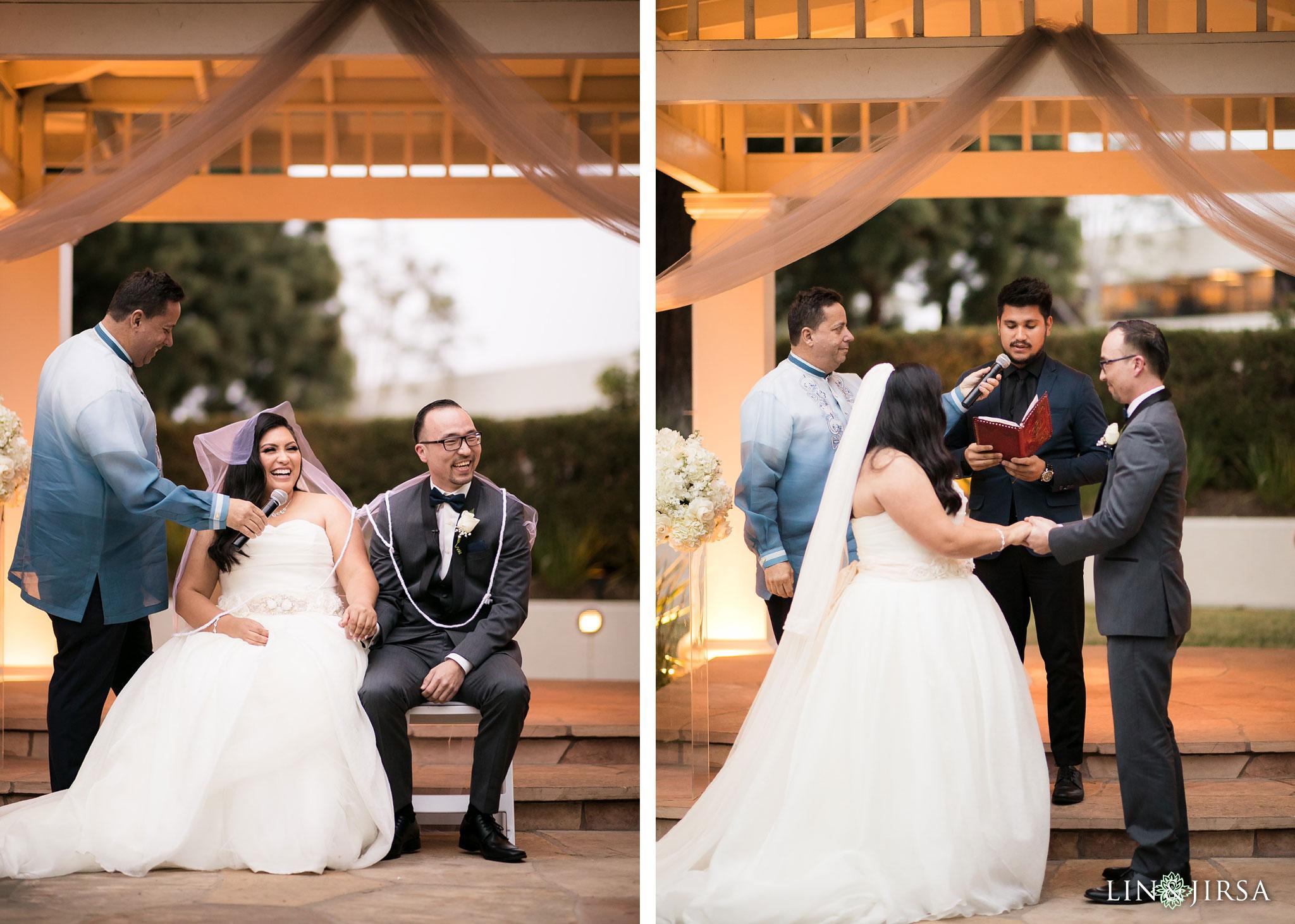 23 turnip rose promenade orange county wedding ceremony photography