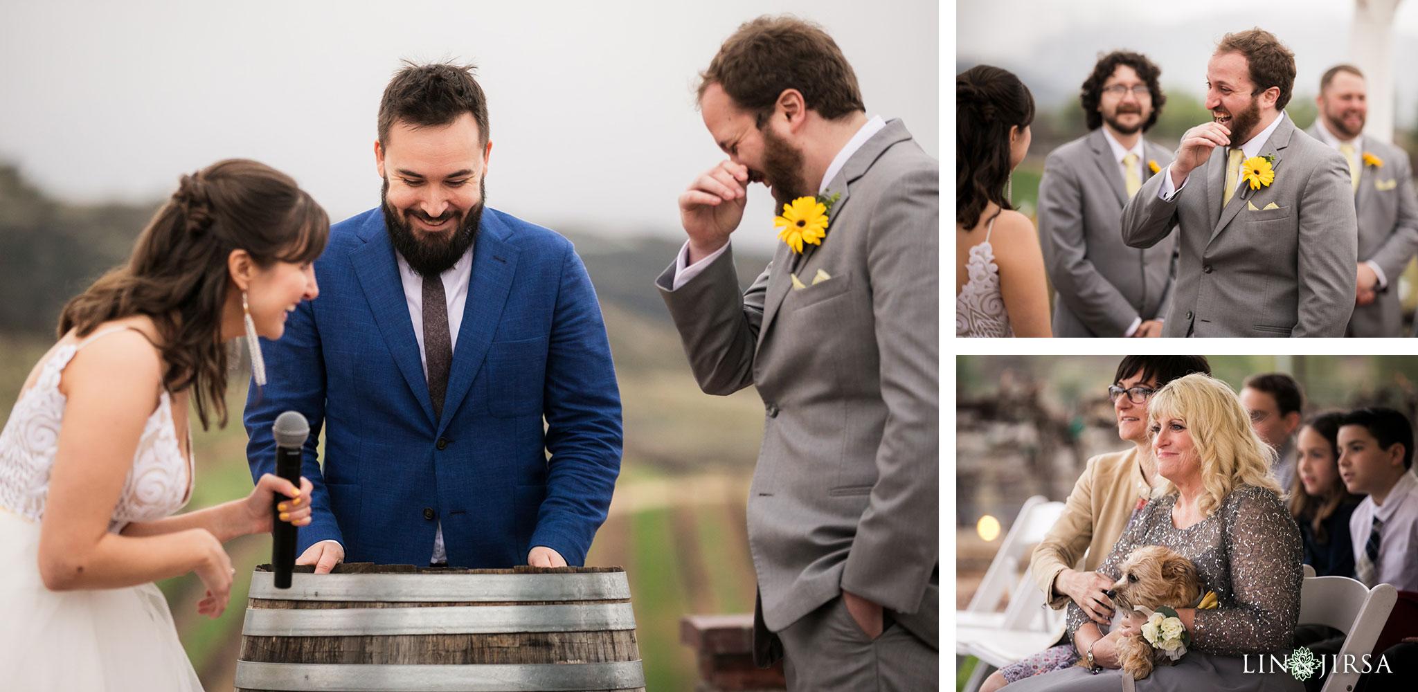 24 leoness cellars temecula wedding ceremony photography