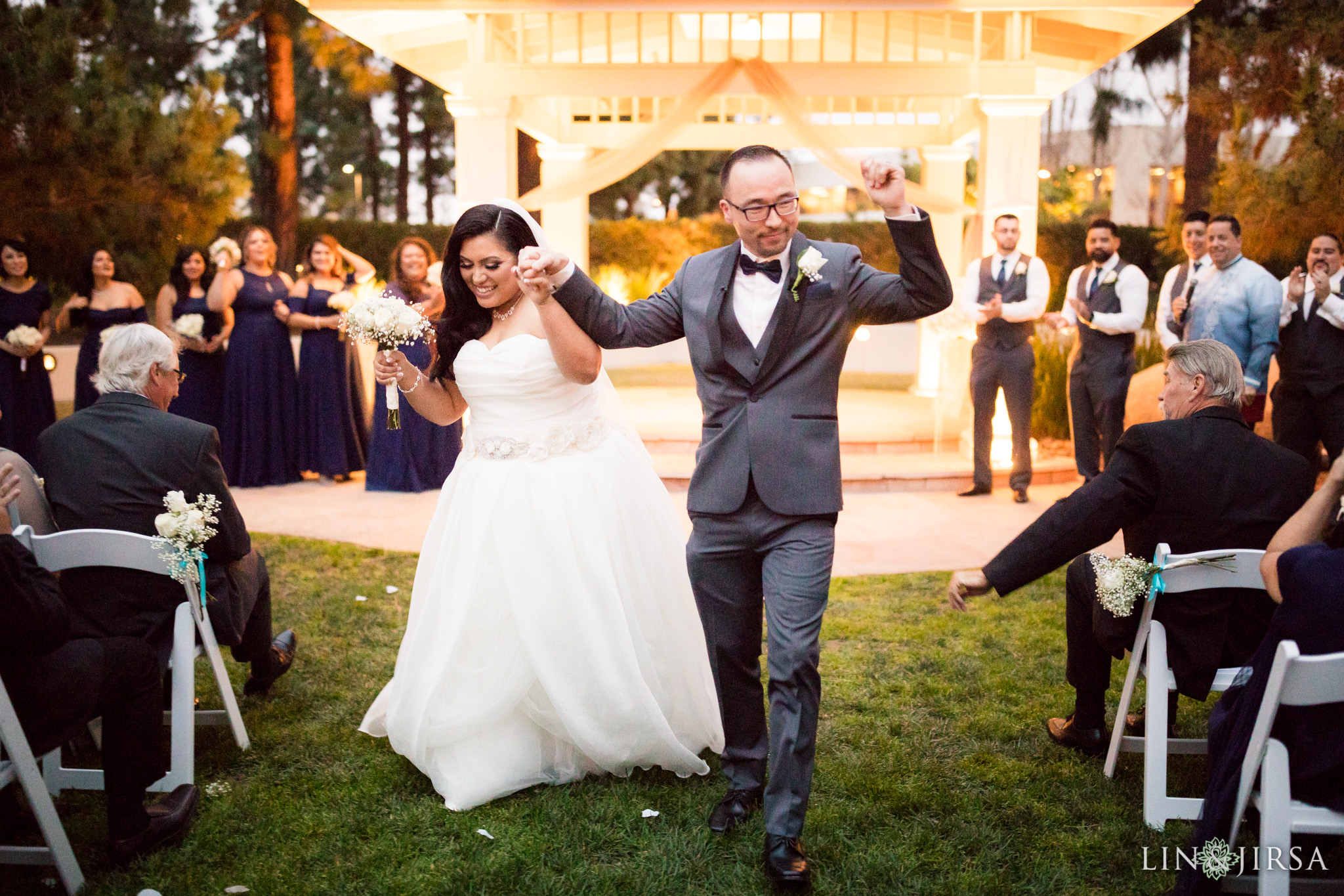 26 turnip rose promenade orange county wedding ceremony photography