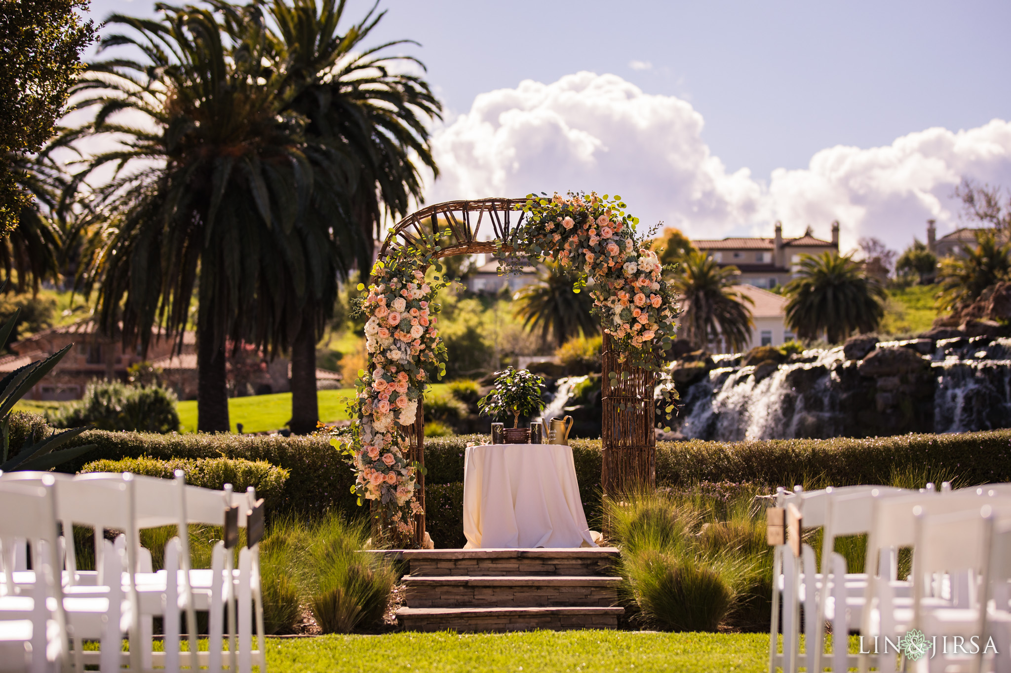 silver creek valley country club san jose wedding ceremony photography