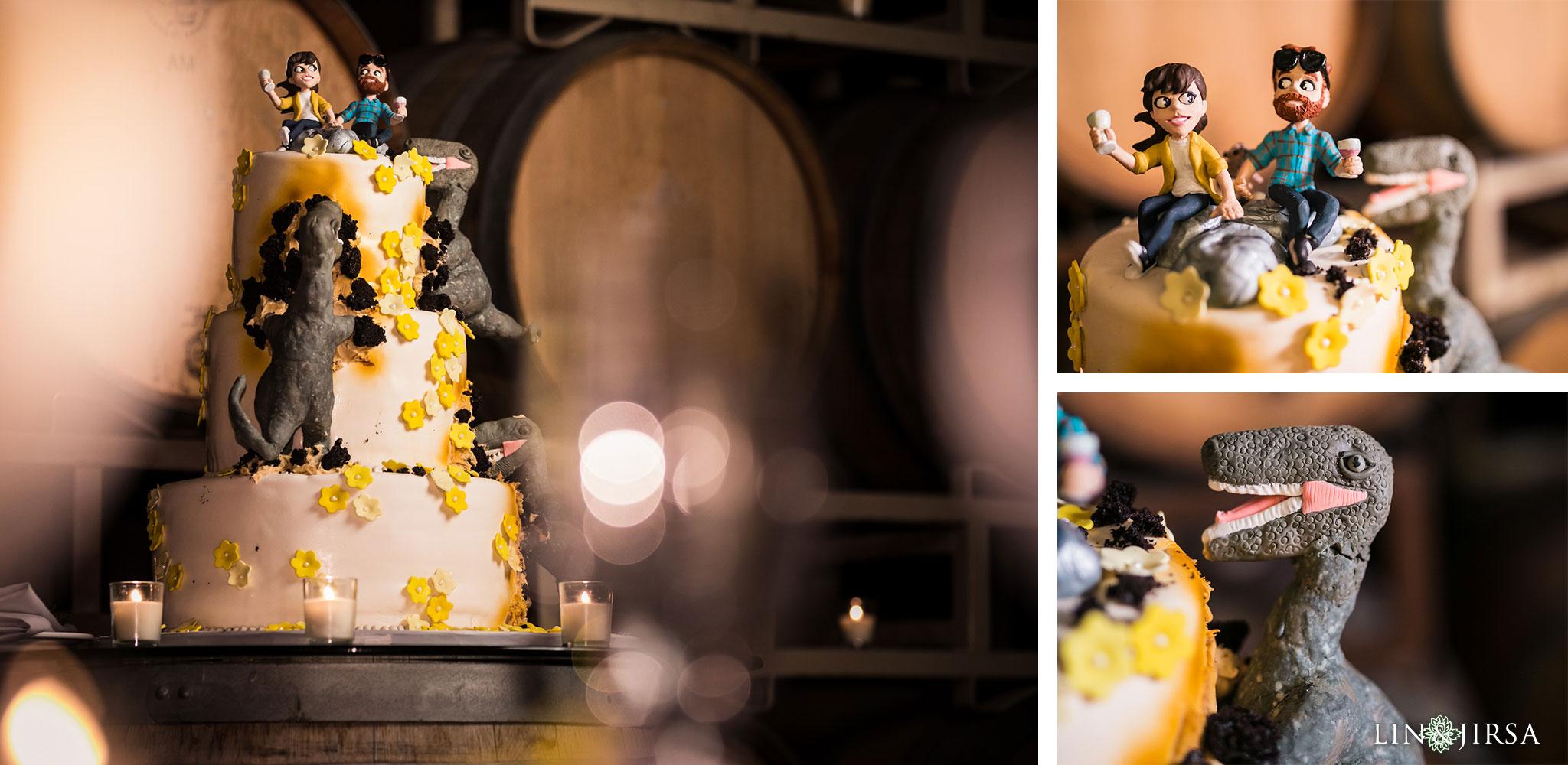 31 leoness cellars temecula wedding jurassic park cake photography