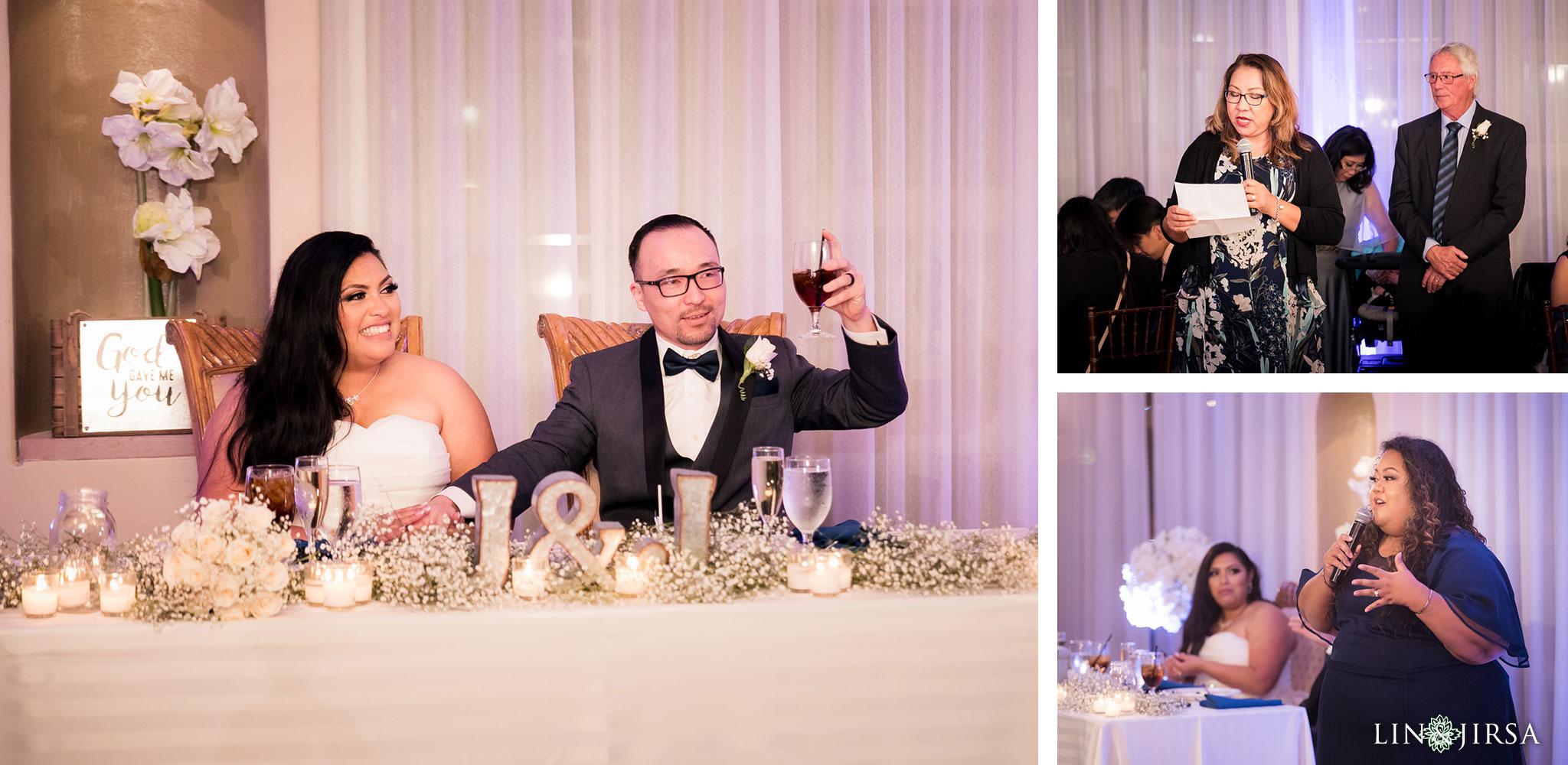 33 turnip rose promenade orange county wedding reception photography