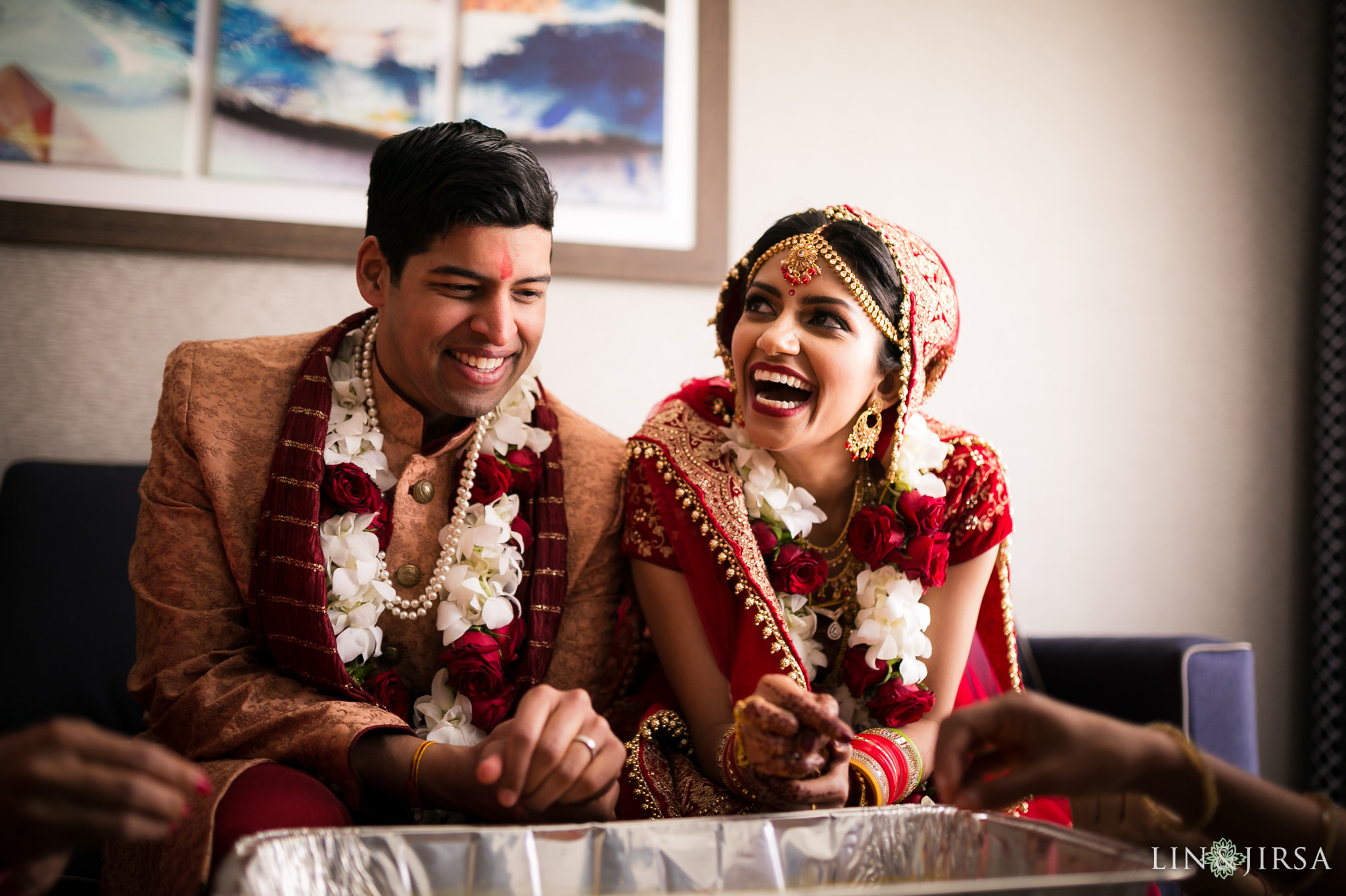 37 hilton waterfront huntington beach indian wedding ceremony photography