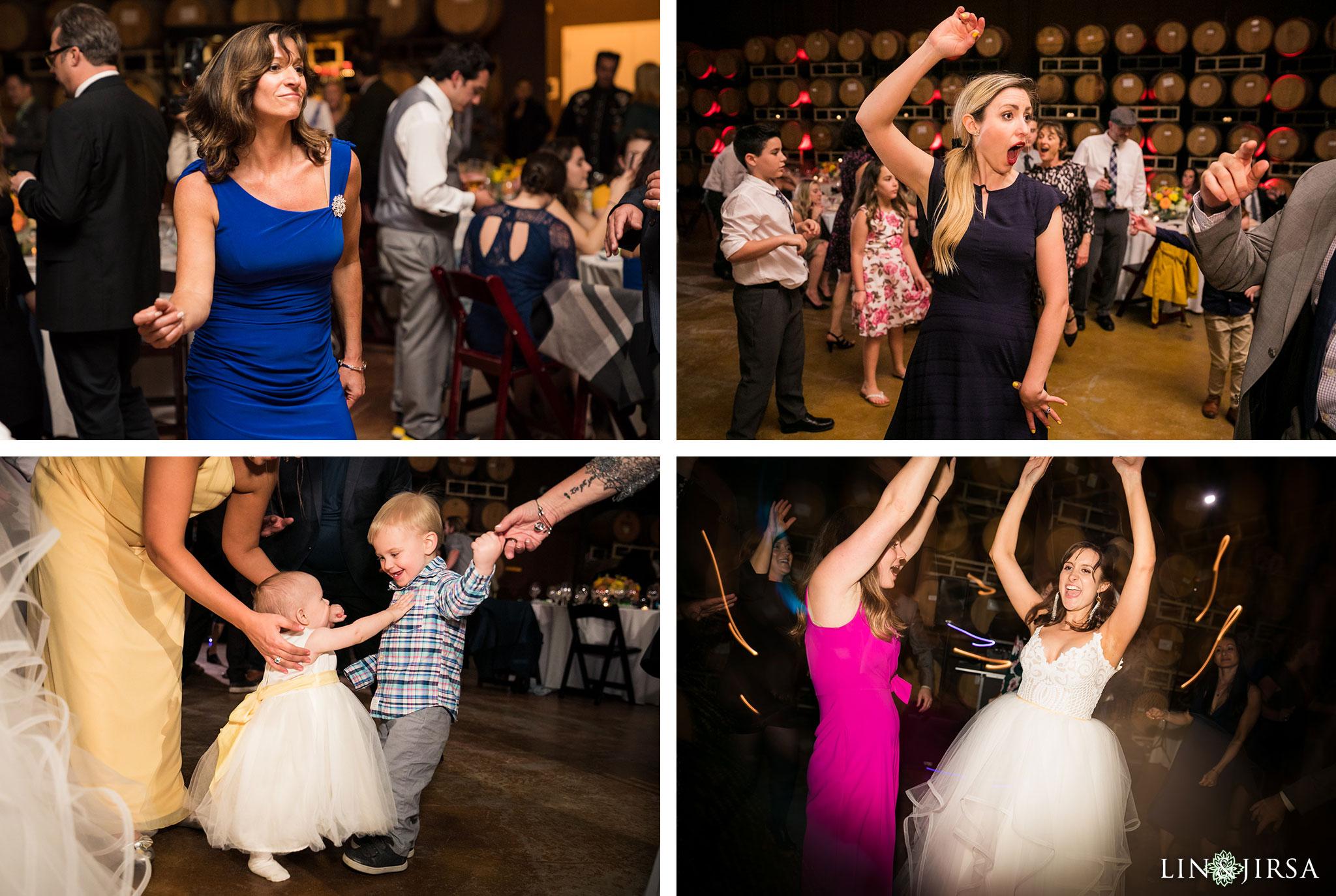 37 leoness cellars temecula wedding reception photography