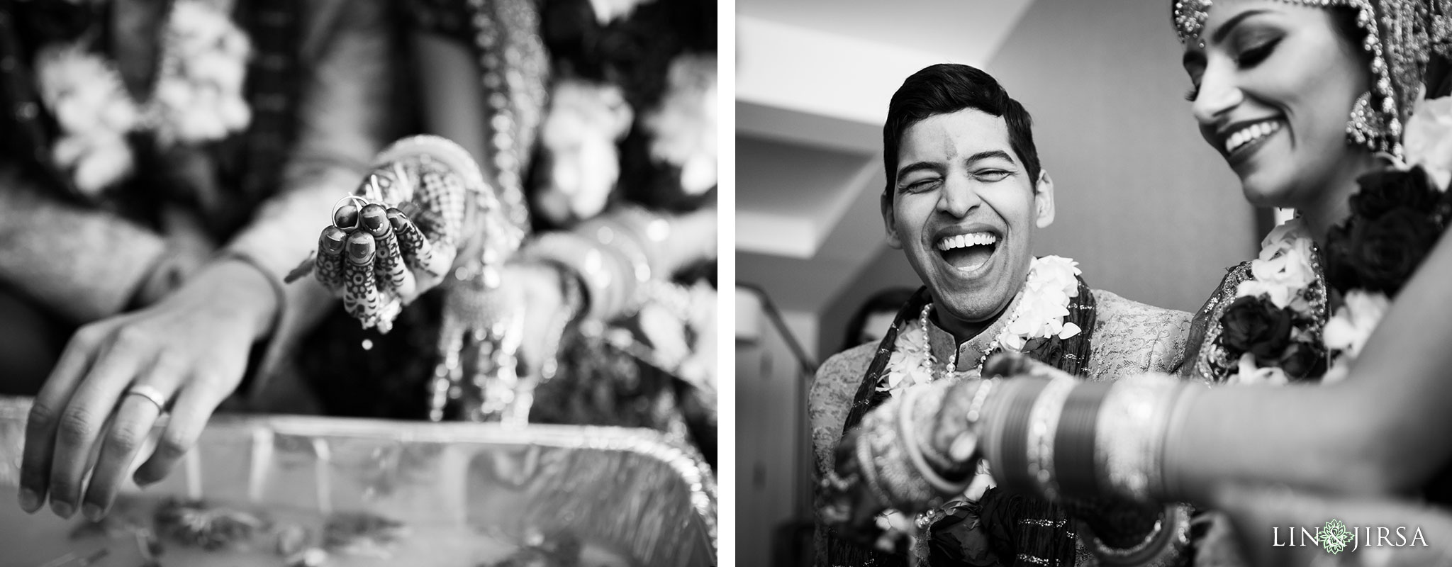 38 hilton waterfront huntington beach indian wedding ceremony photography