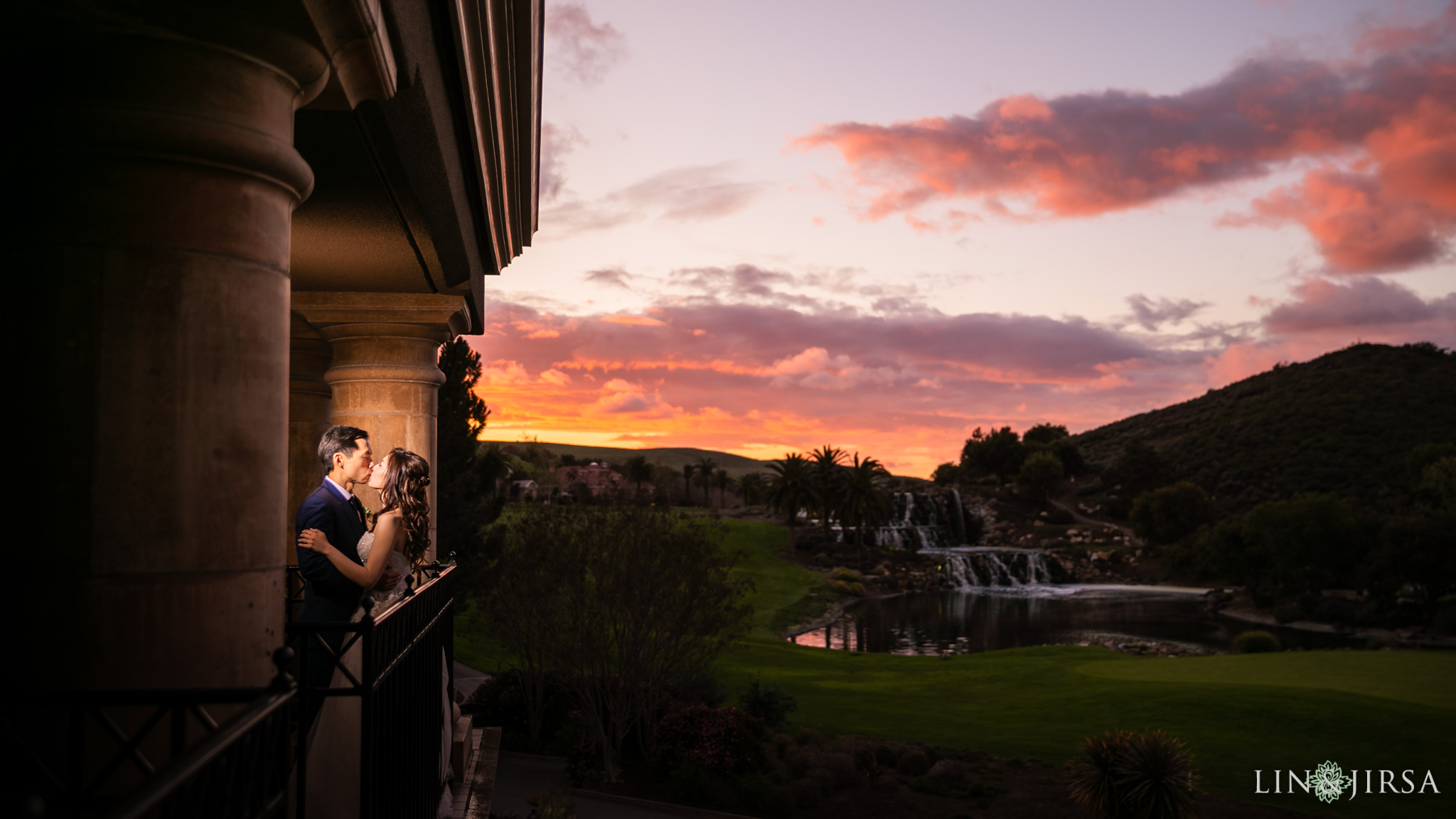 silver creek valley country club san jose wedding sunset photography