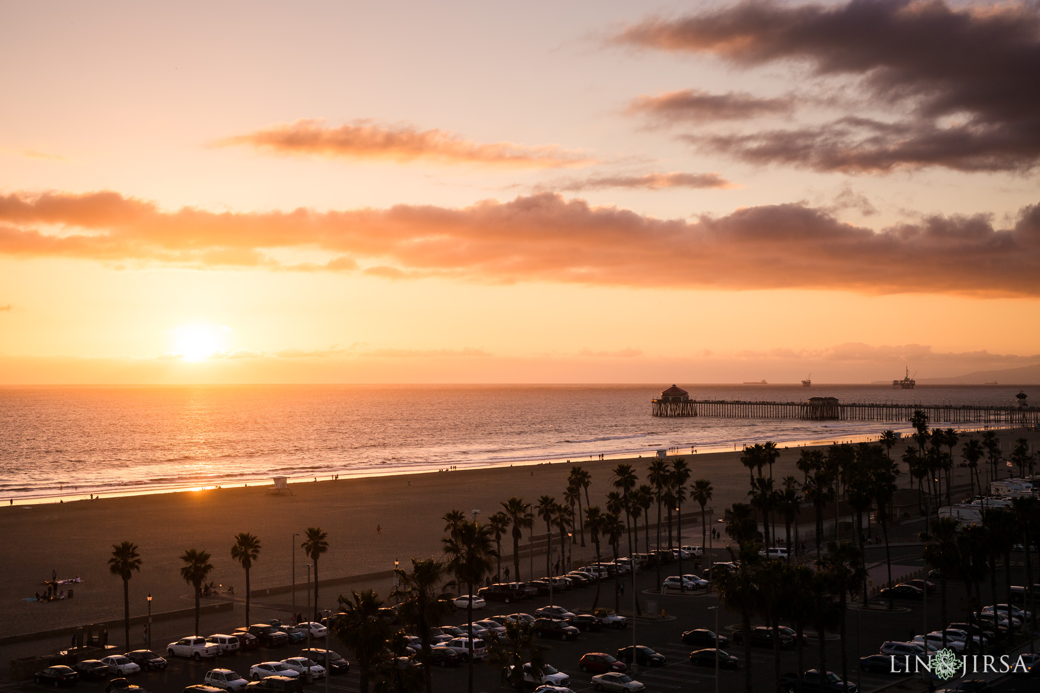 39 hilton waterfront huntington beach indian wedding sunset photography
