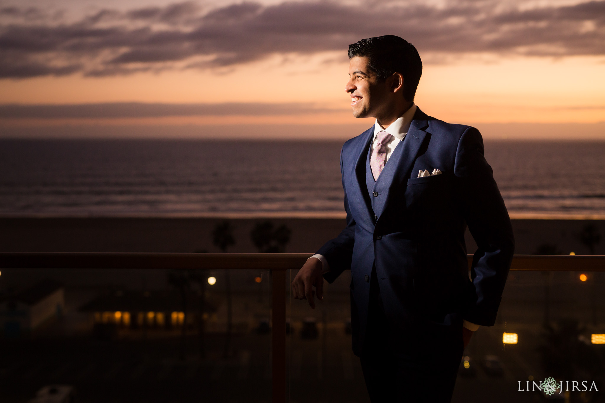 42 hilton waterfront huntington beach indian wedding sunset photography