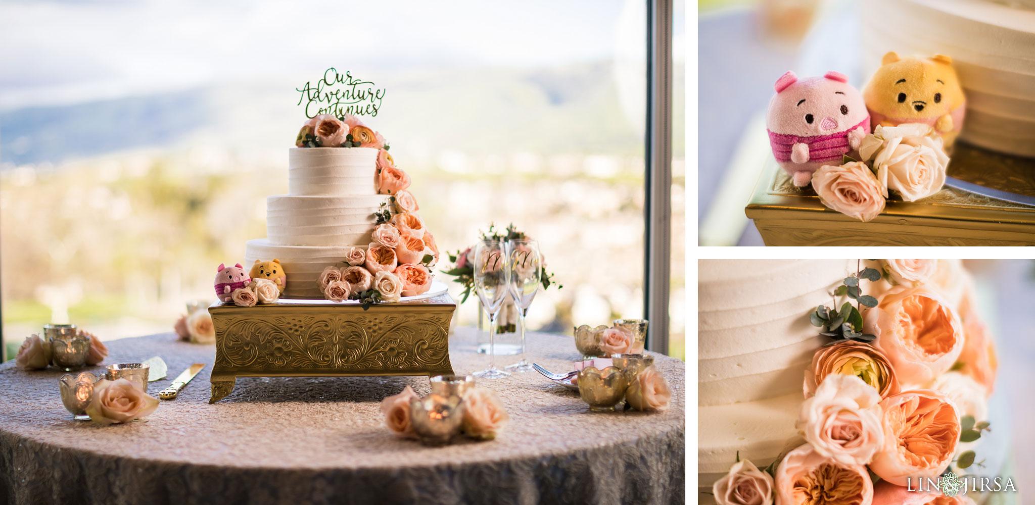 43 silver creek valley country club san jose wedding reception pooh bear cake photography