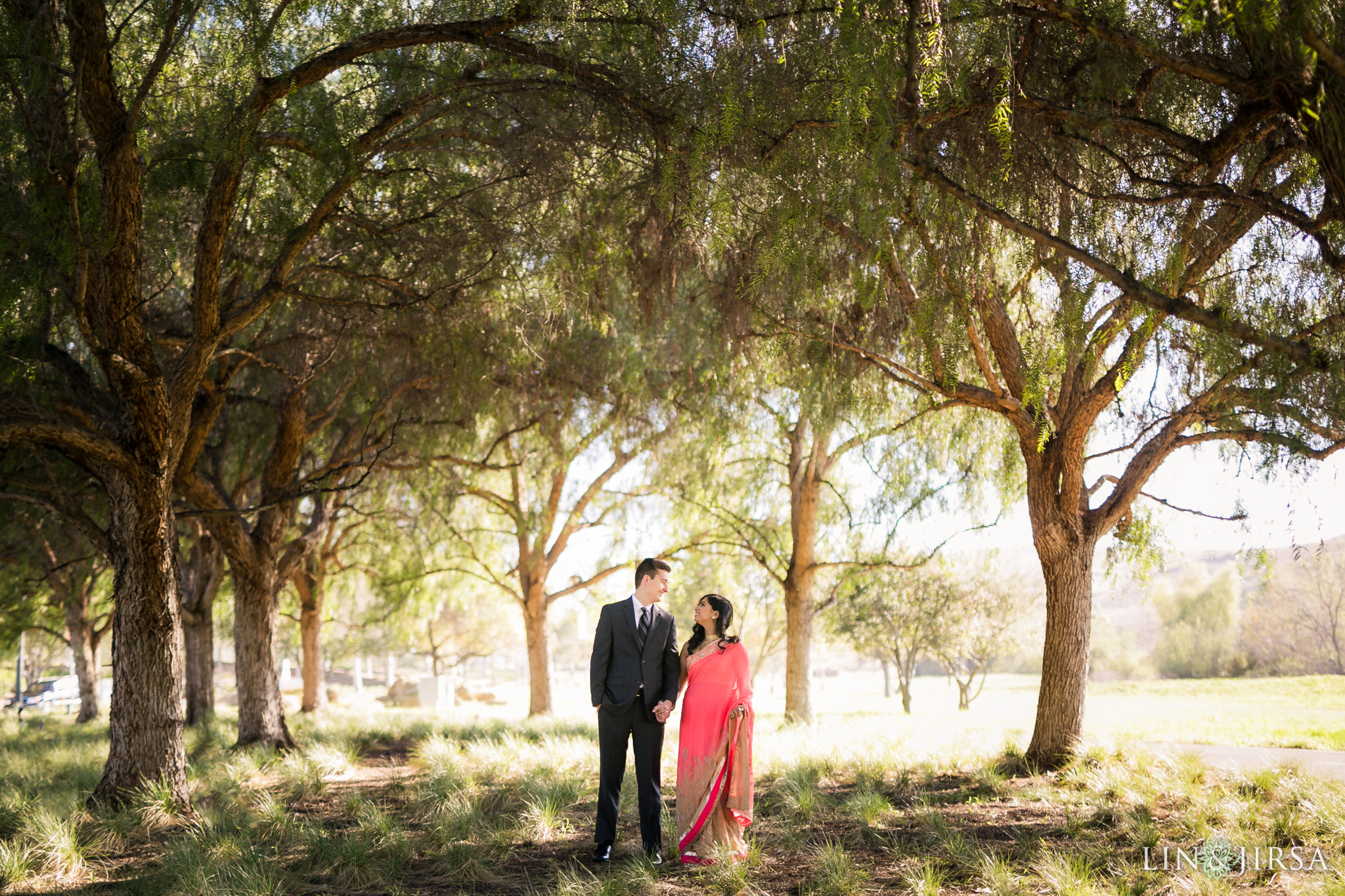 01 quail hill orange county indian engagement photography