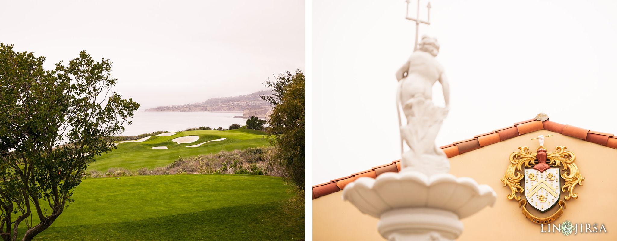 01 trump national golf club rancho palos verdes wedding bride photography