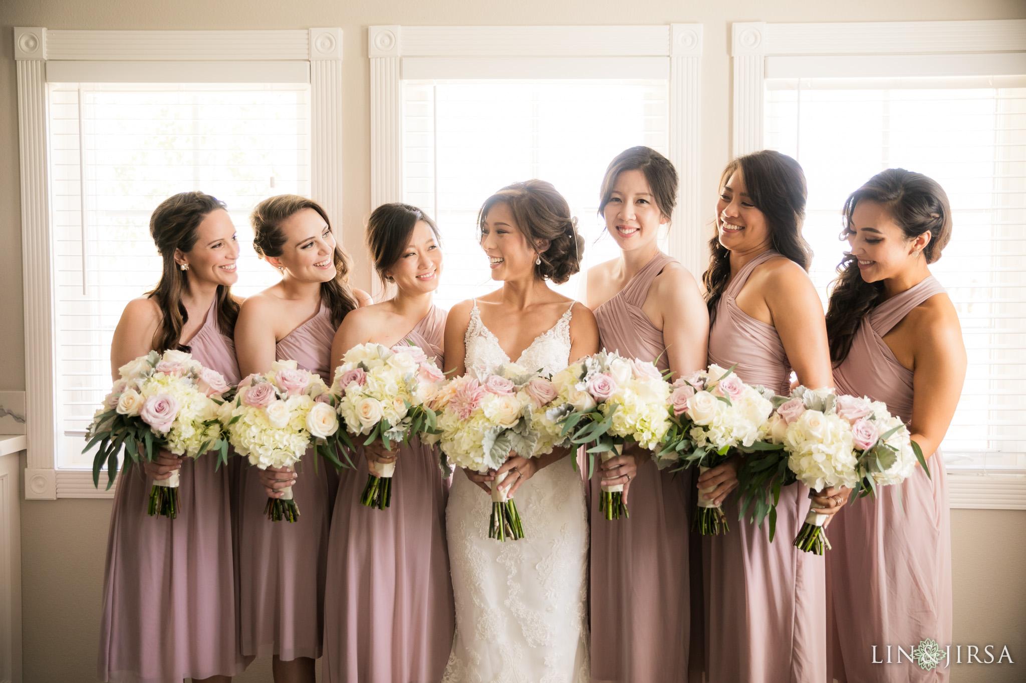 05 Ponte Winery Vineyard Garden Temecula Bridesmaids Wedding Photography