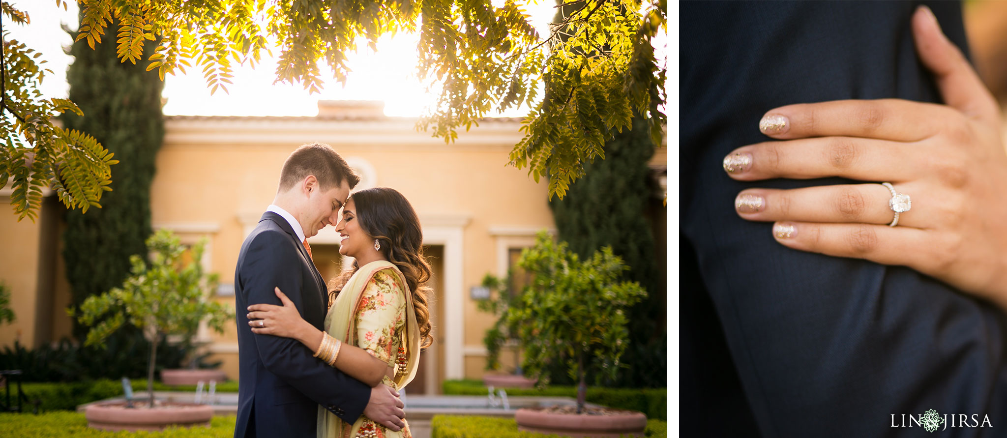 07 pelican hill indian engagement party photography
