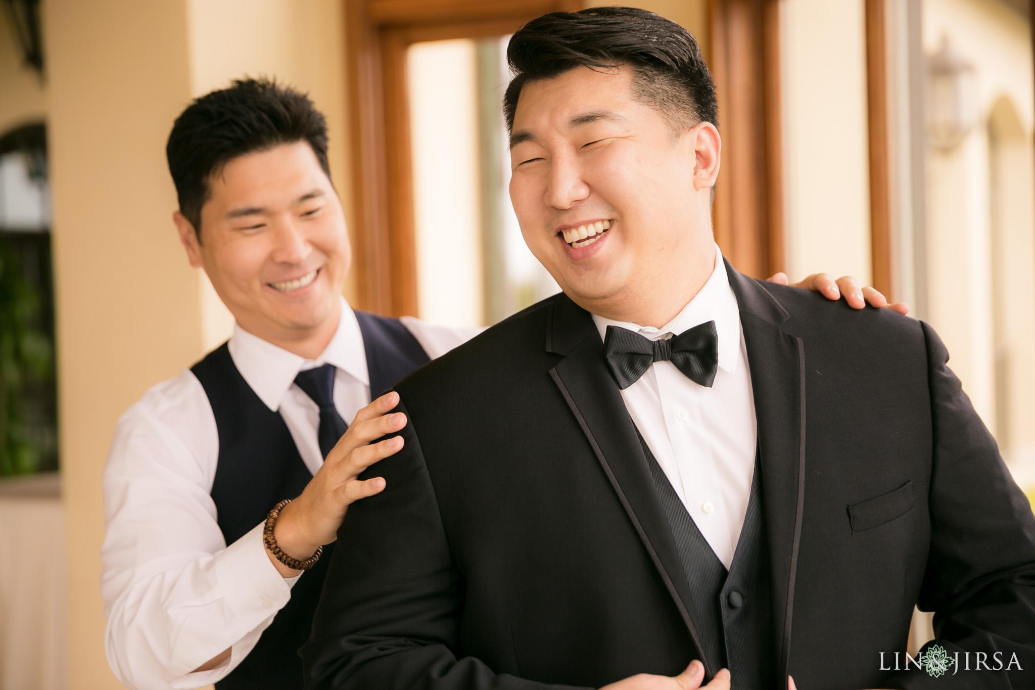 07 trump national golf club rancho palos verdes wedding groom photography