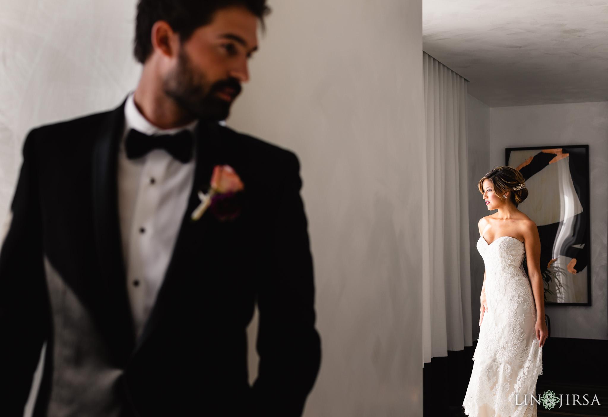 10 Kimpton La Peer Hotel West Hollywood Stylized Wedding Photography