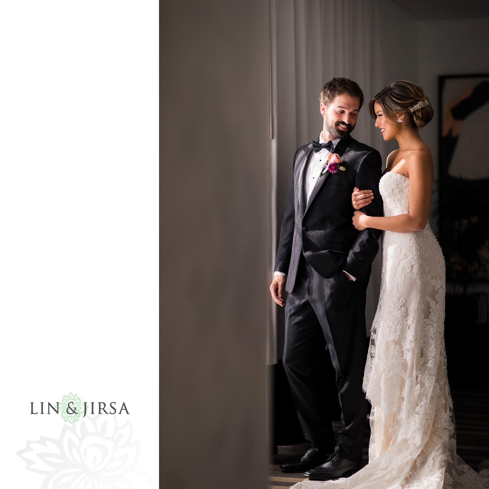 11 Kimpton La Peer Hotel West Hollywood Stylized Wedding Photography