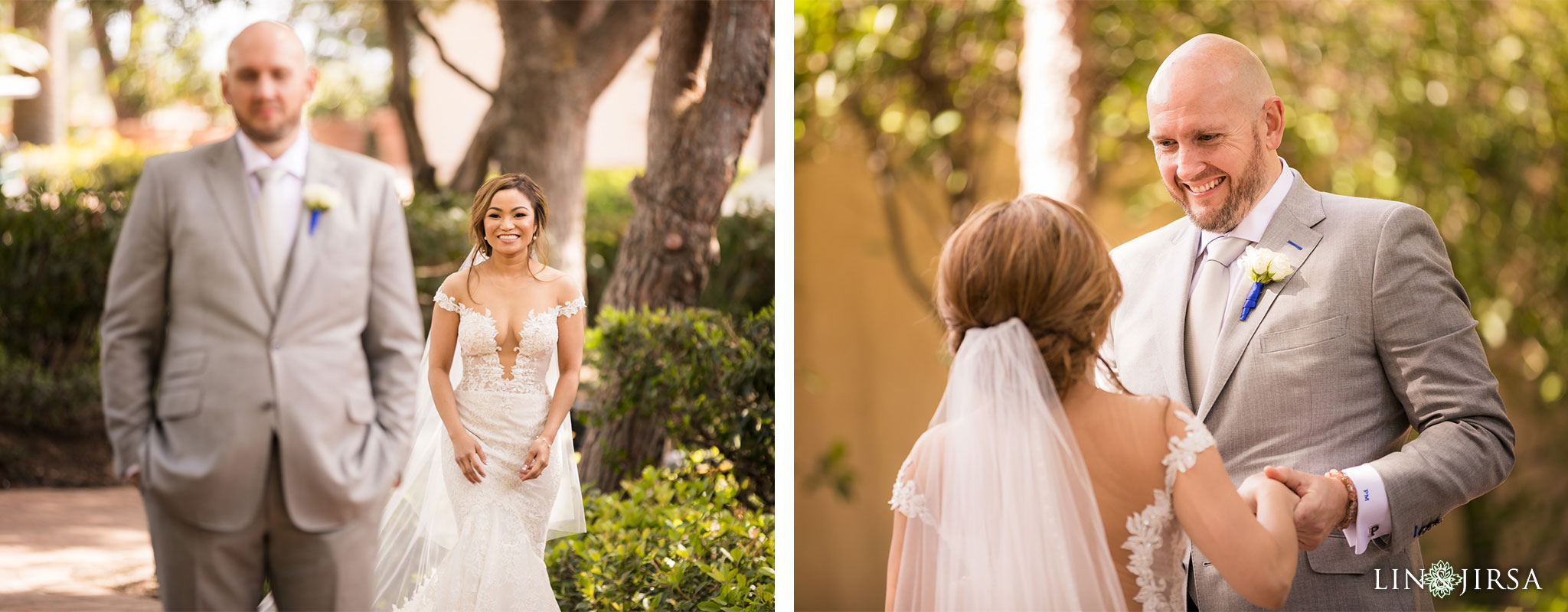 12 pelican hill resort orange county first look wedding photography