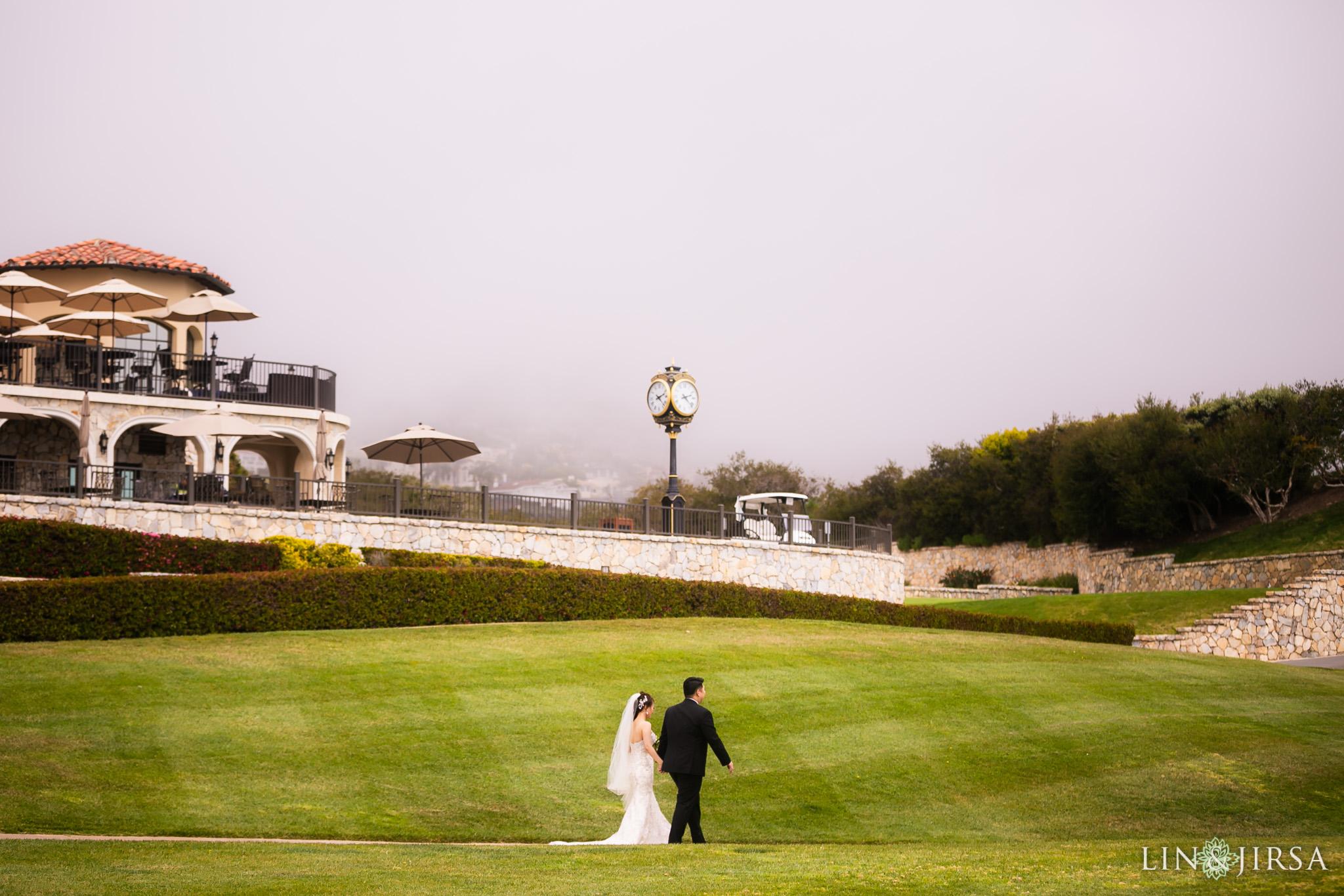 13 trump national golf club rancho palos verdes wedding first look photography