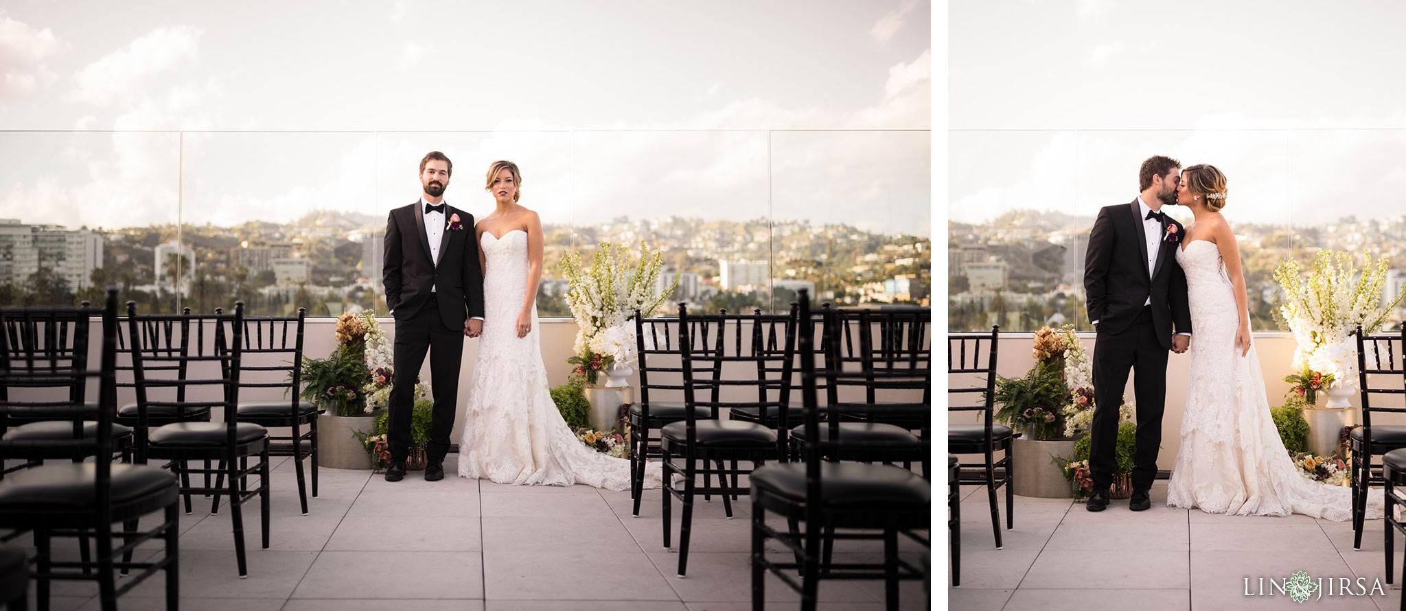 15 Kimpton La Peer Hotel West Hollywood Stylized Wedding Photography