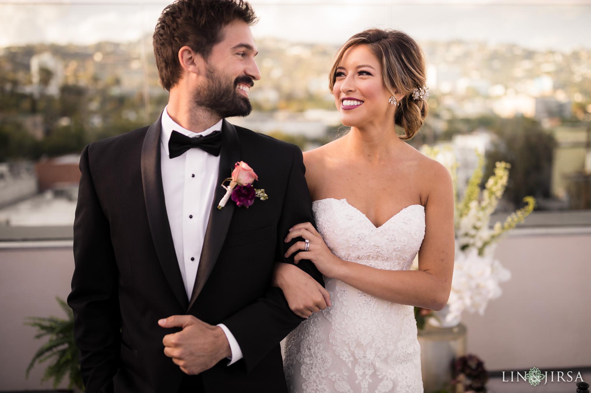 16 Kimpton La Peer Hotel West Hollywood Stylized Wedding Photography